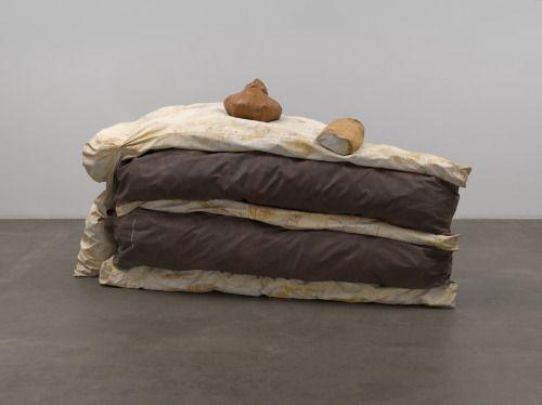 "IKEBANA + MISO + MARZIPAN = Claes Oldenburg, ""Floor Cake,"" 1962"