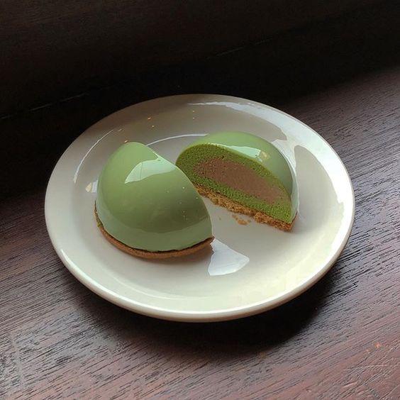 EAMES + NECTAR + AKOYA = Matcha dessert by @konyeon