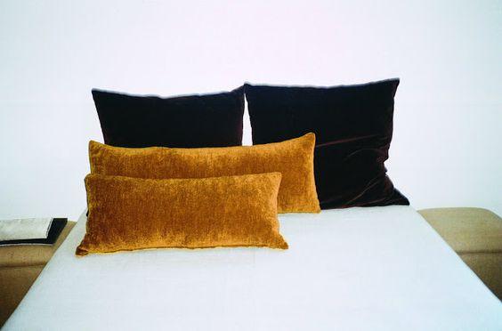 Velvet pillows at Mercantile Vintage