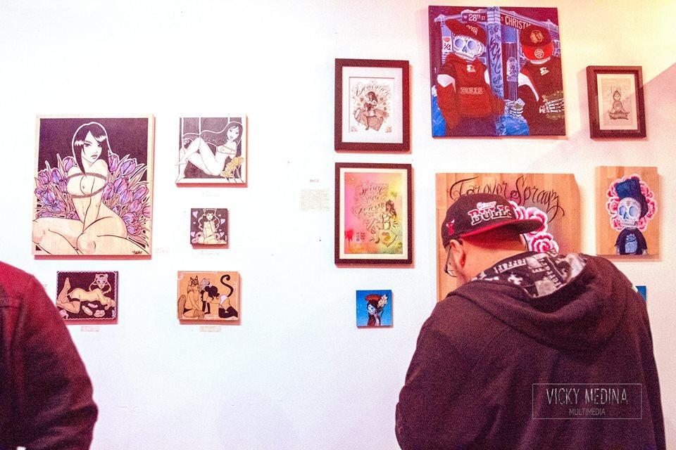 Pussymanifesto show    March 2016    Photo by: Vicky Medina