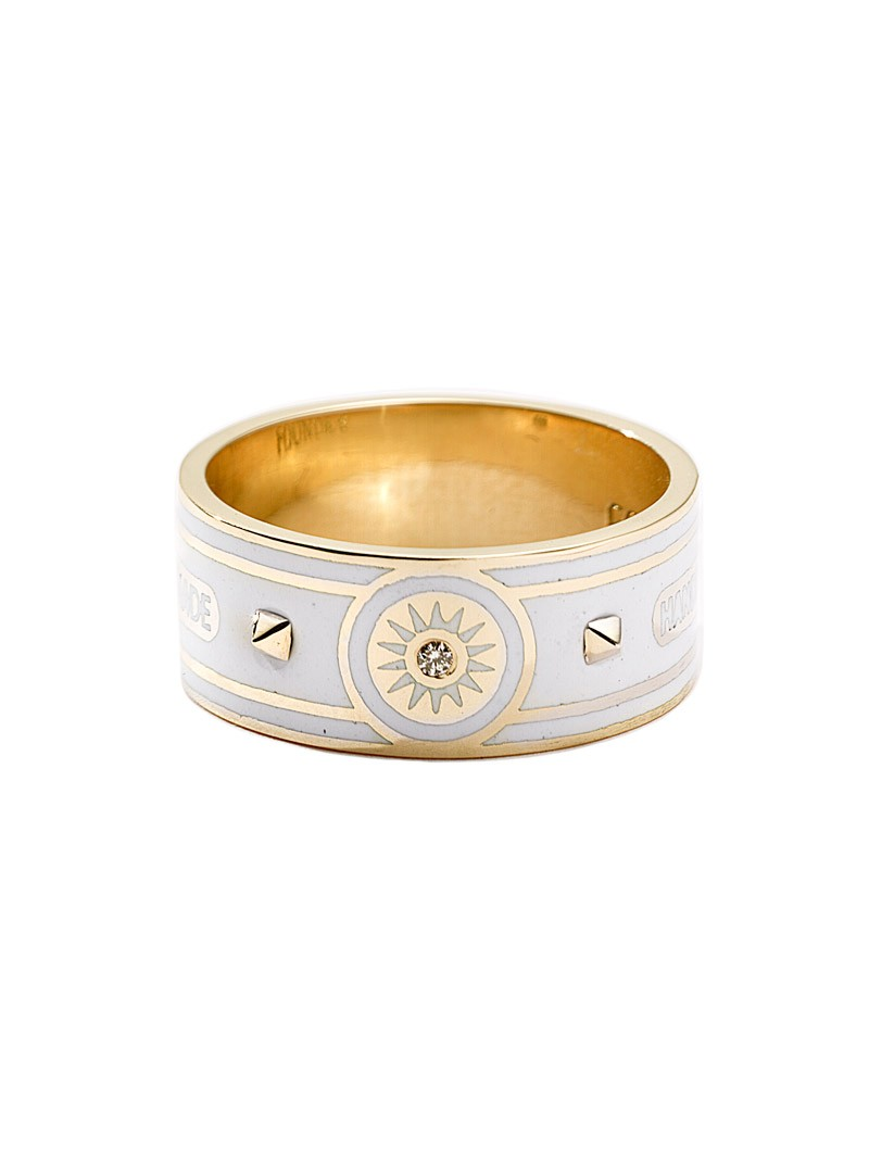 Wholeness Wide Band Ring