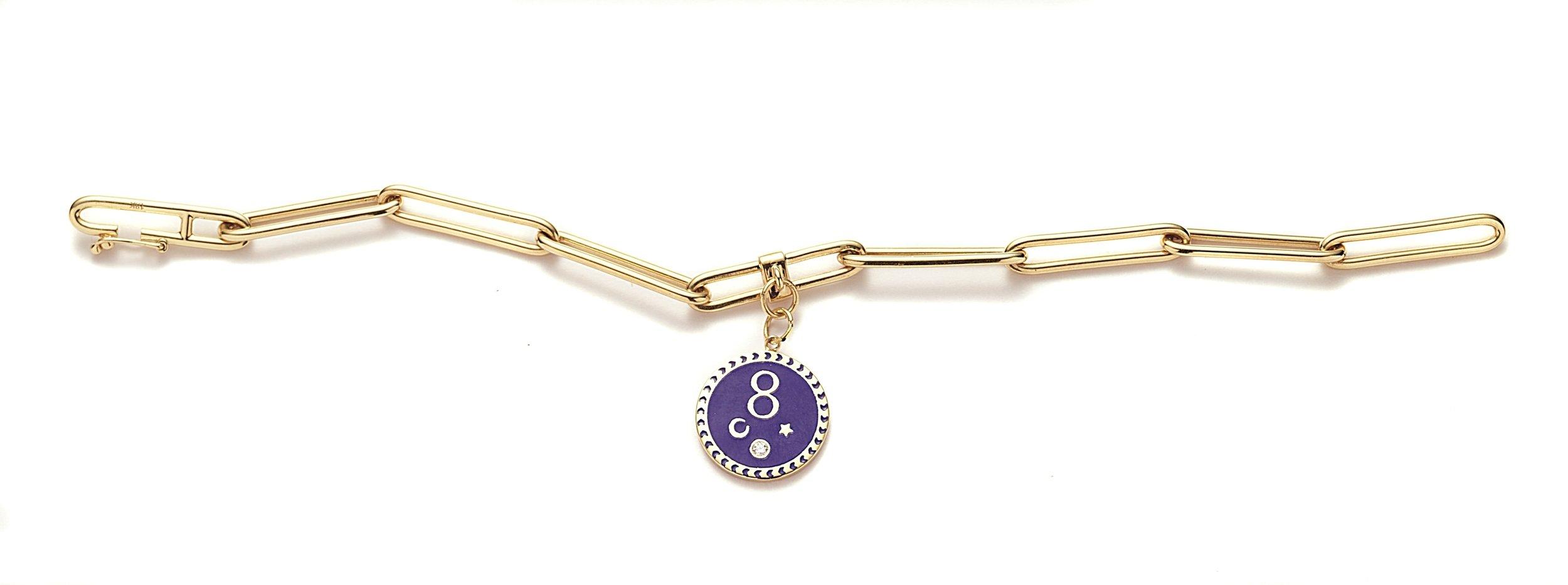 Karma Clip Bracelet