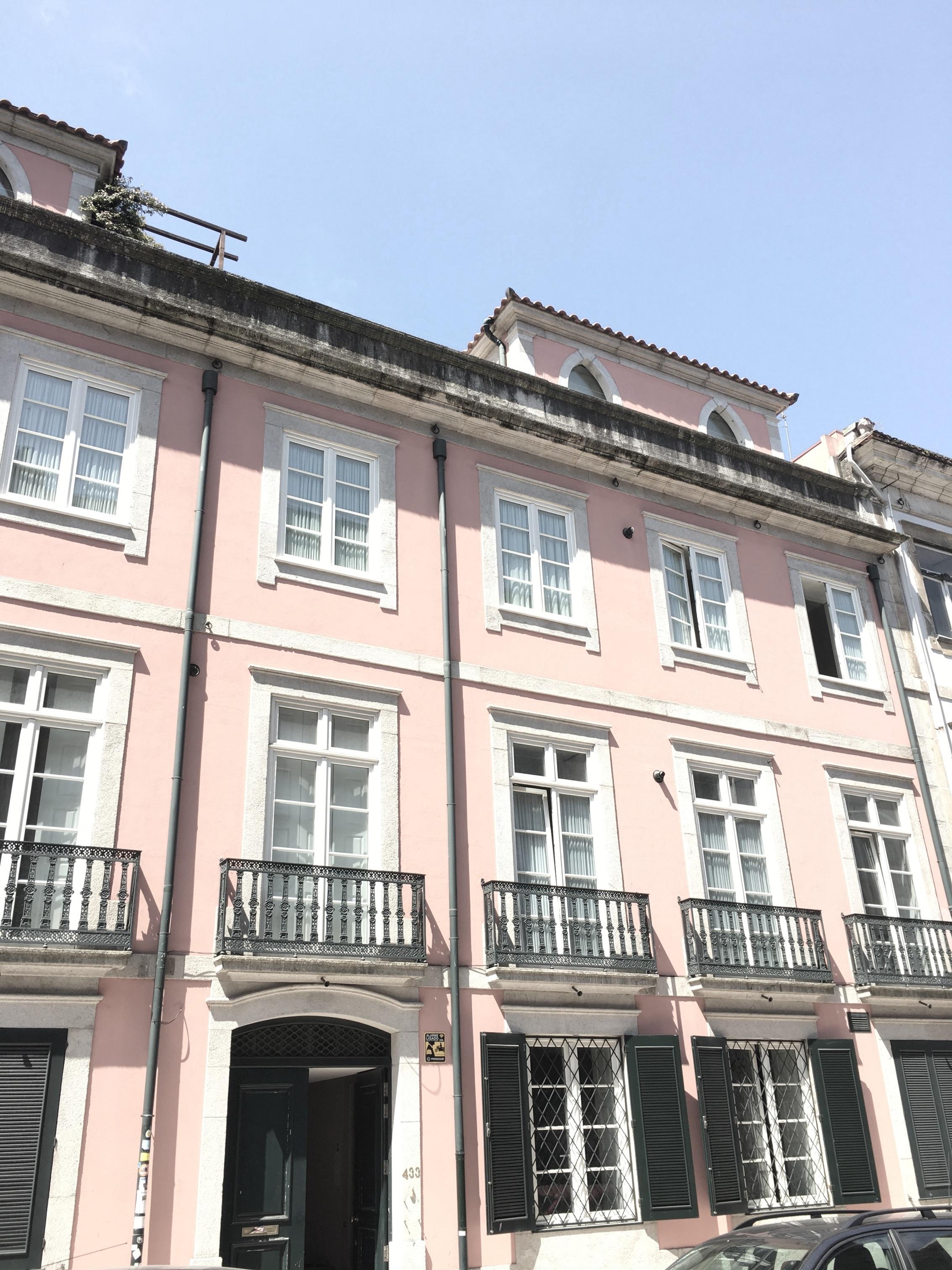Joana's studio in Porto