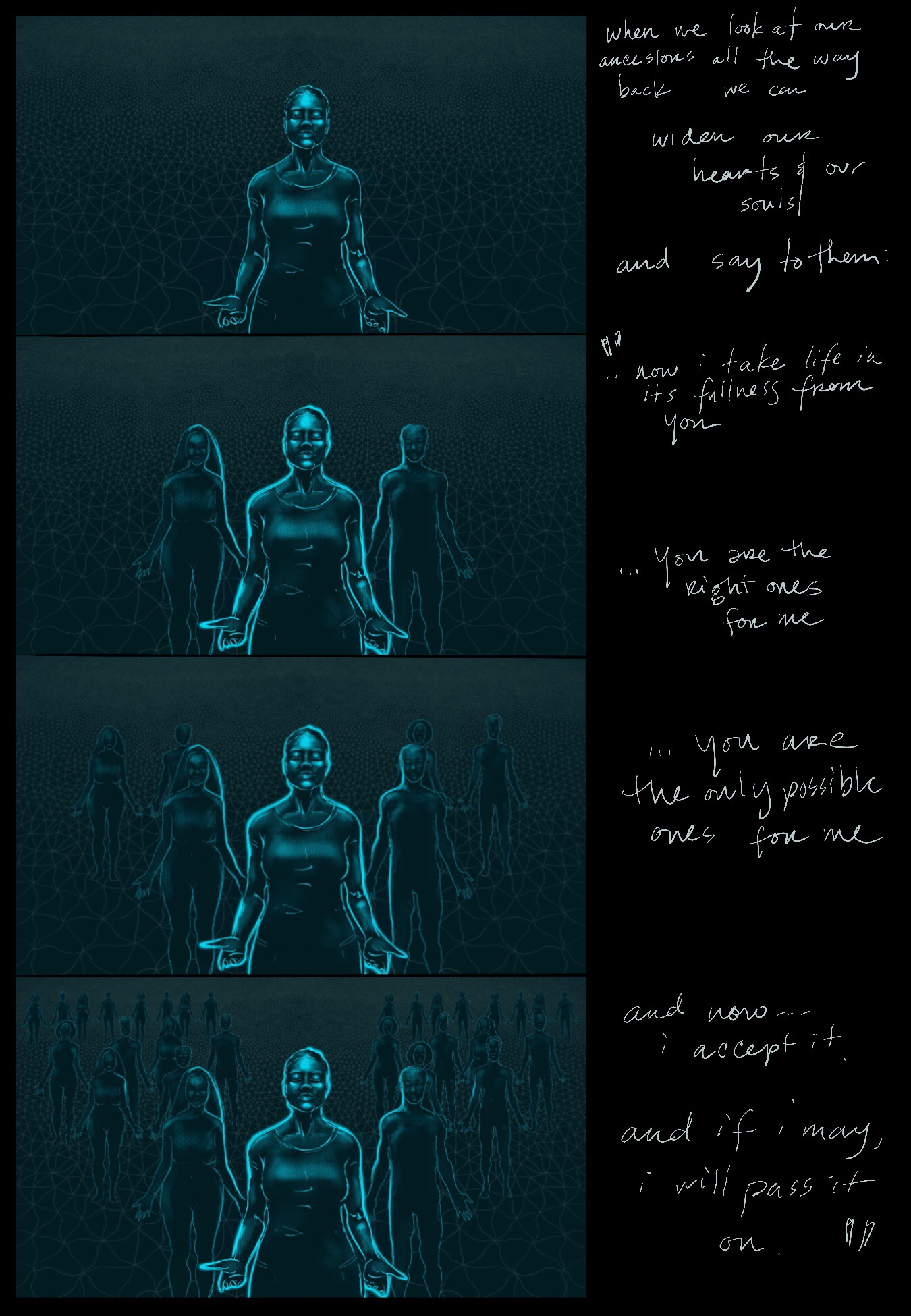 Storyboard Concept, Soul Movement Healing Collaboration 2018