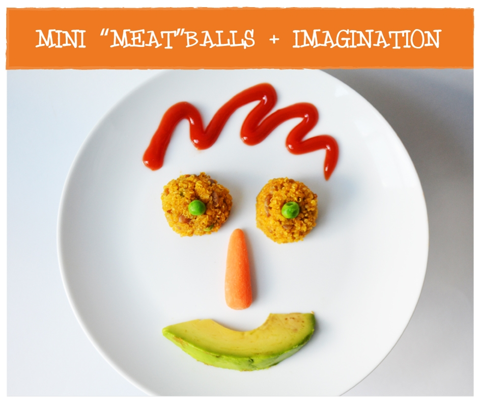 Heidi's real food Minis meatless meatballs