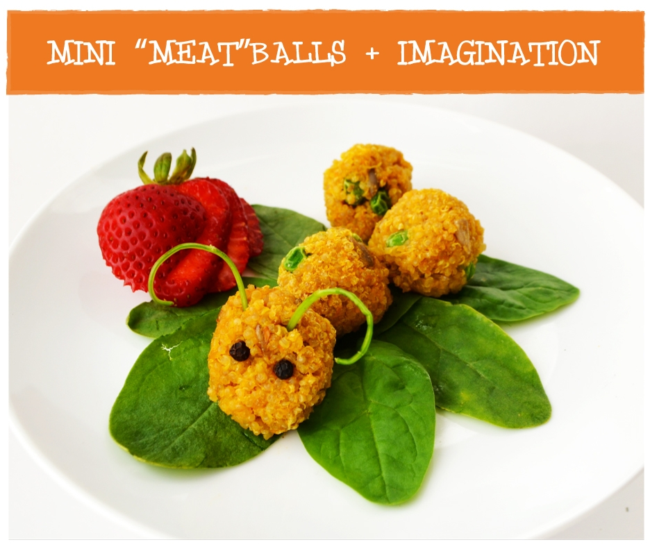 Heidis Real Food MINI Meatless Meatballs