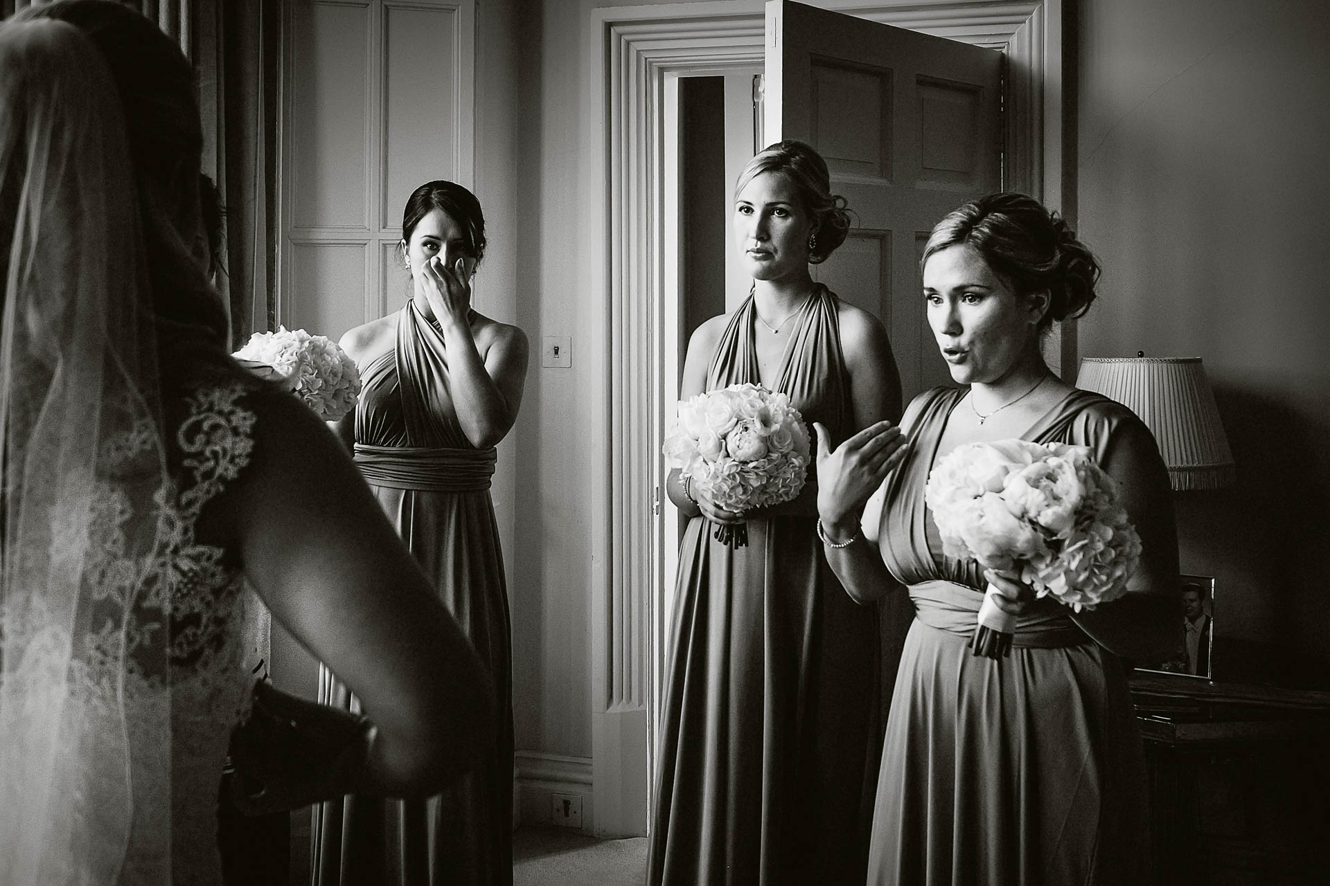Documentary-Wedding-Bridesmaids-reaction-dress