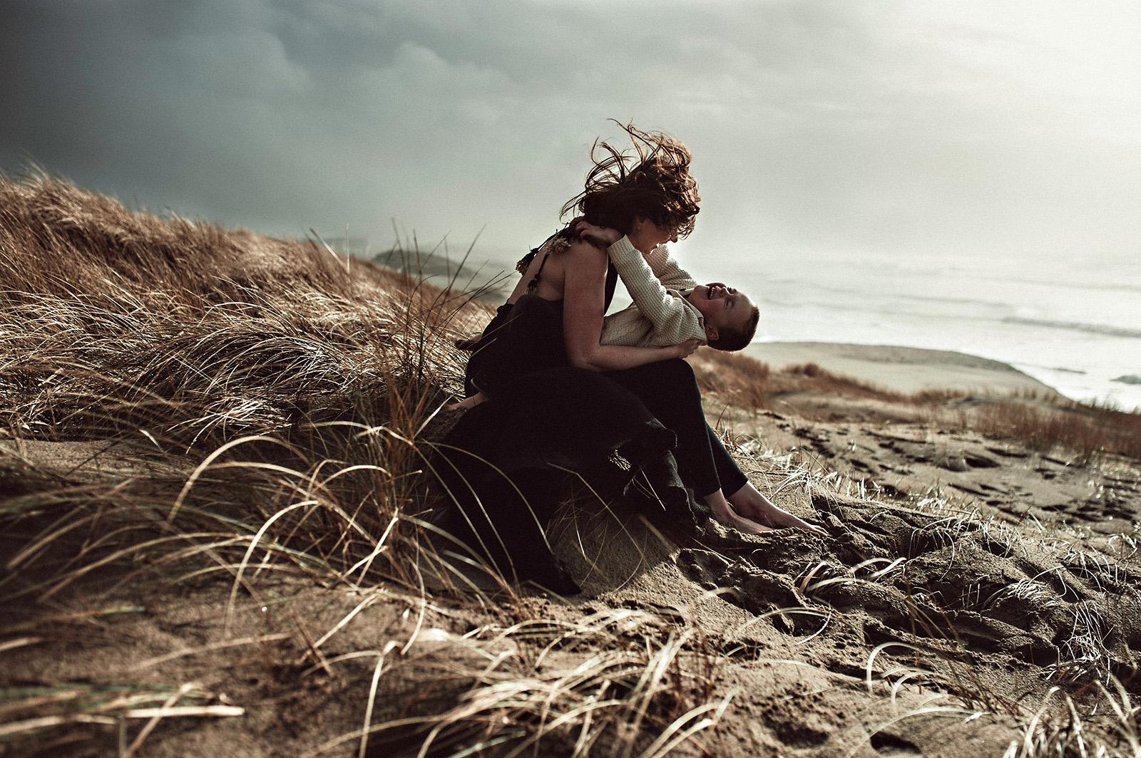 windy-beach-mother-son-portrait