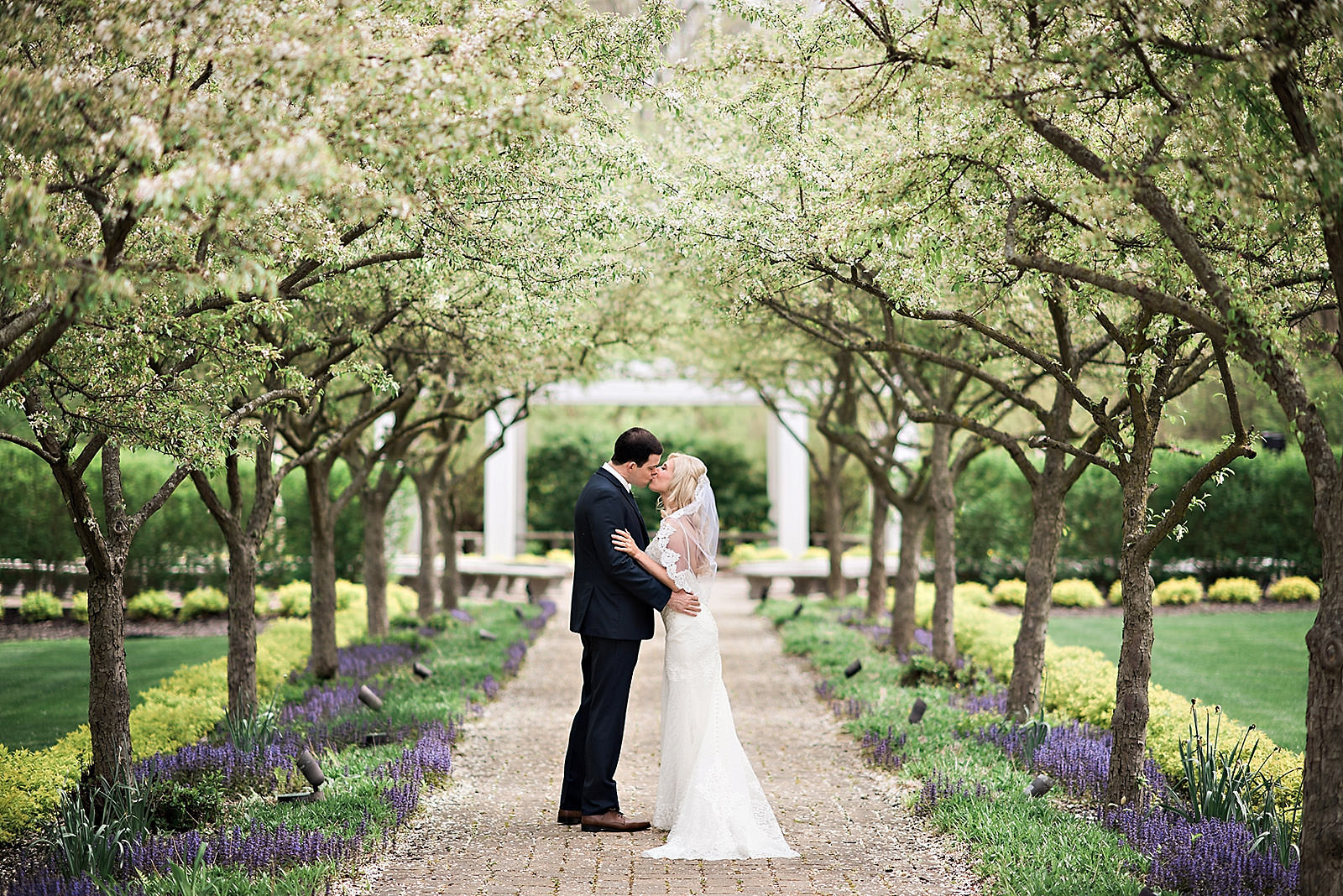 bride-groom-kissing-cherry-orchards