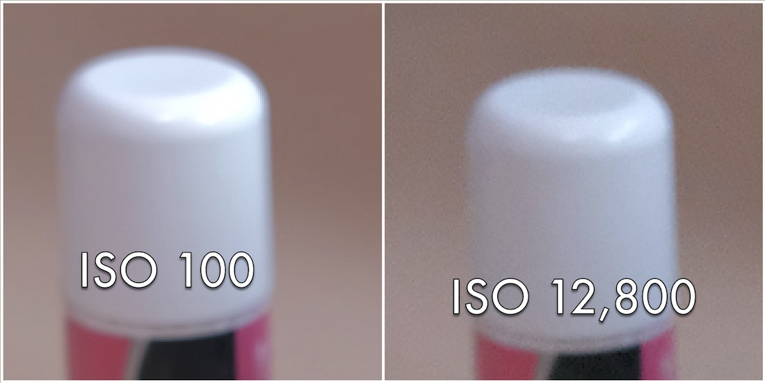 A Higher ISO results in reduced image quality and high levels of digital noise.