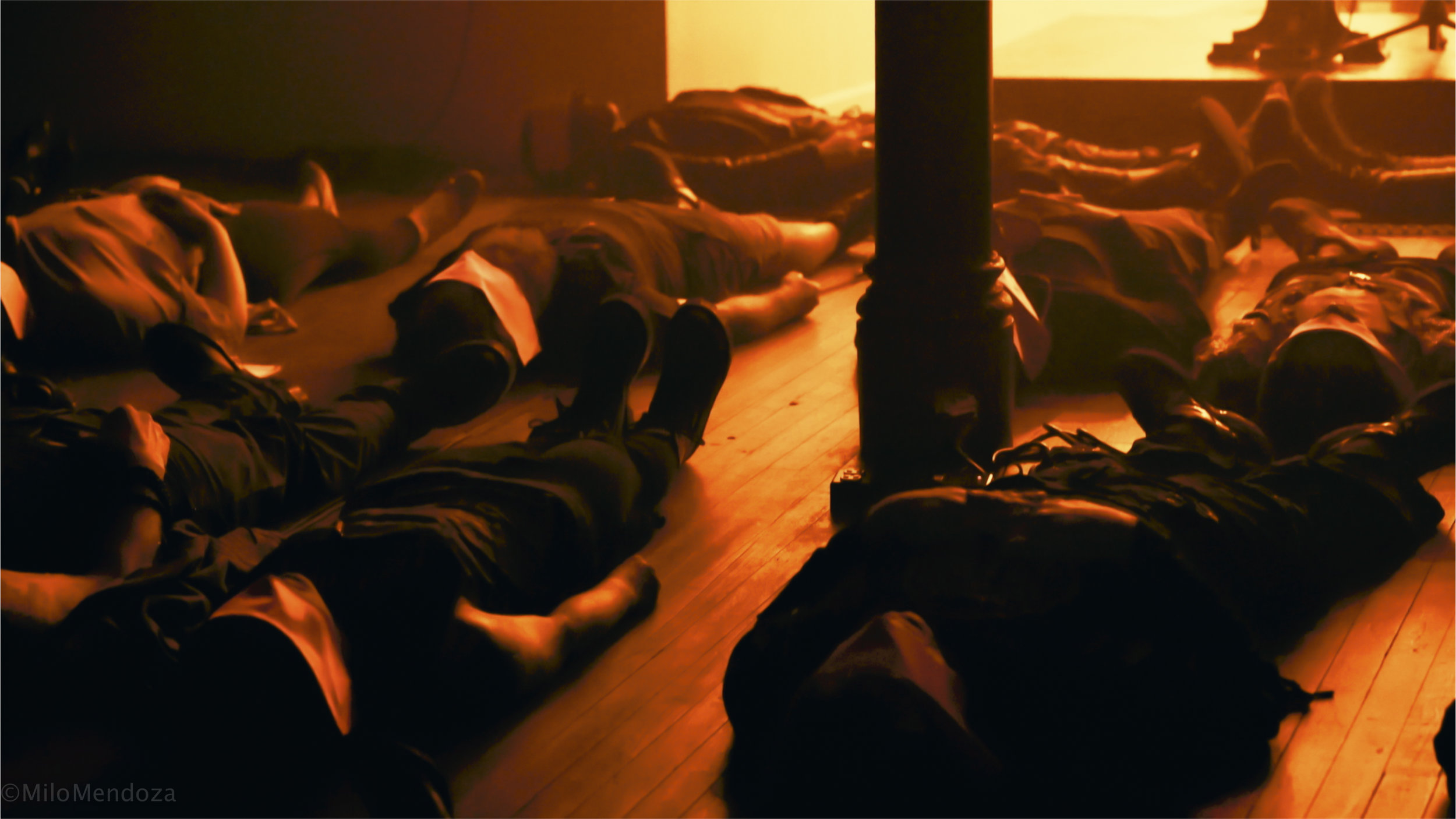 SEX MILITANT participatory ritual performance. Photographer Milo Mendoza.