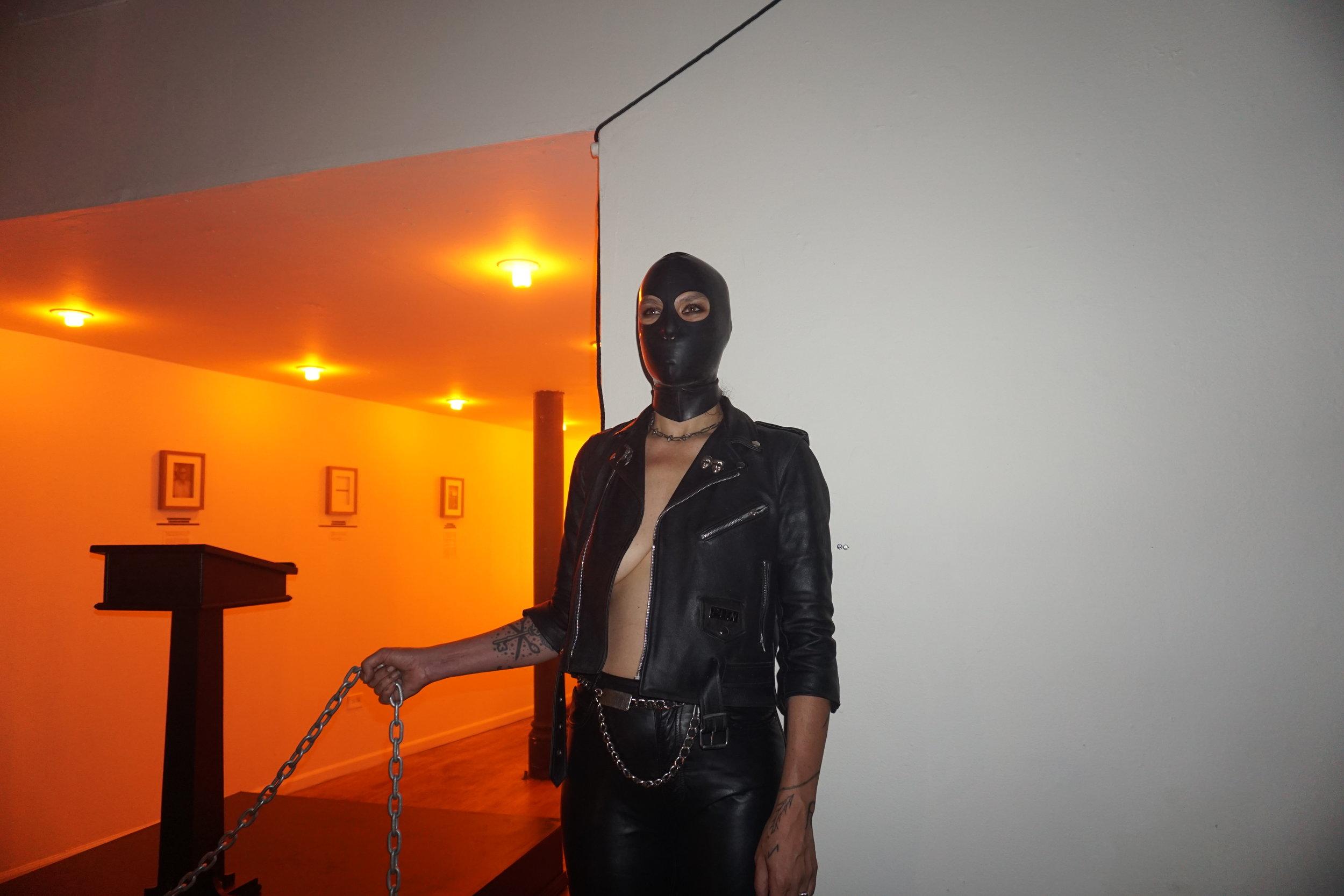"""SEX MILITANT"" installation view"