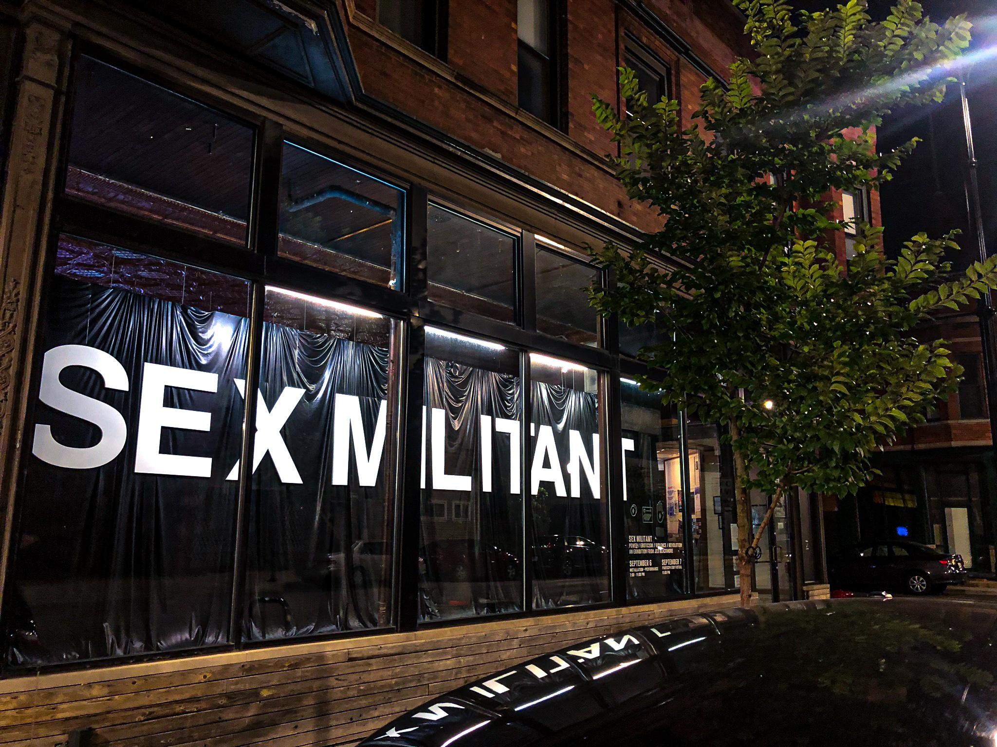 Exhibition Window Display