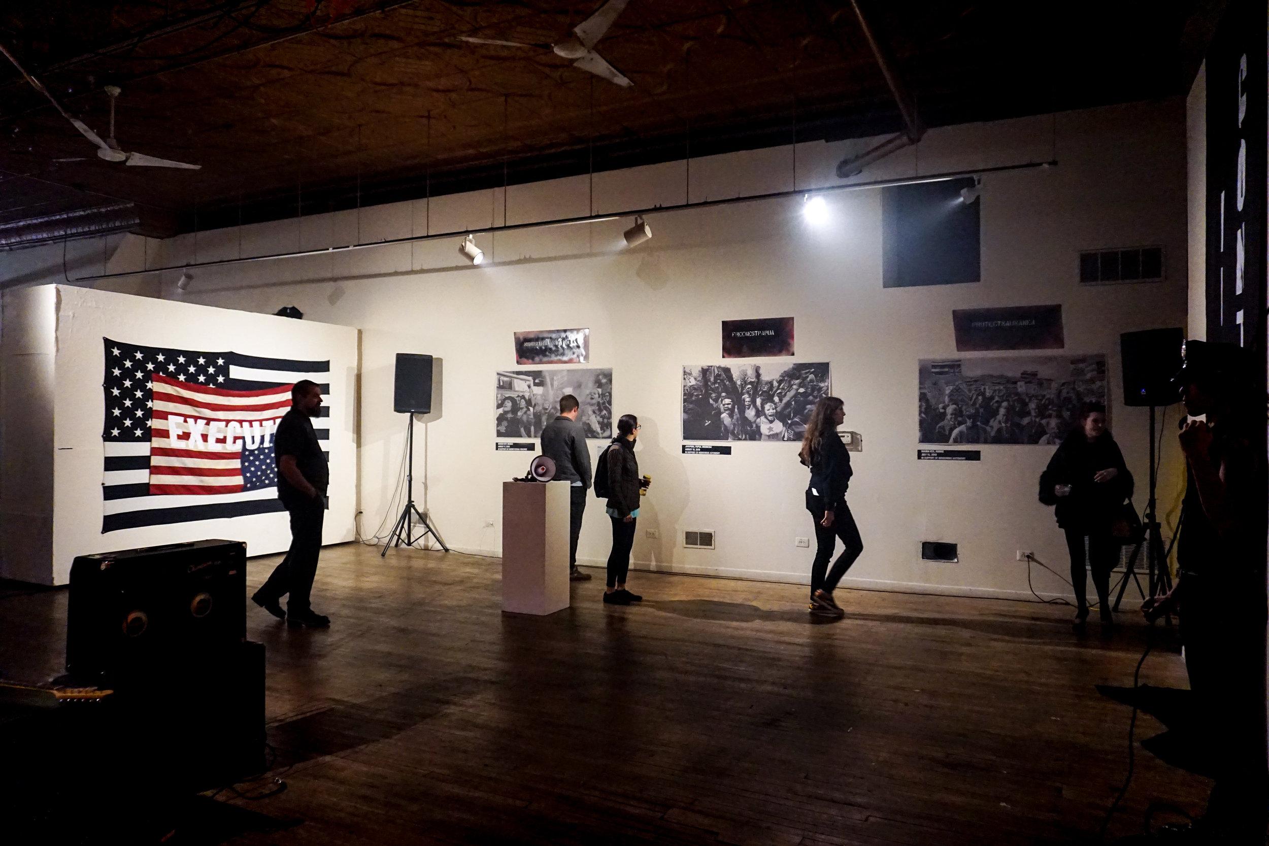 """SEX MILITANT"" installation view. Photographer Nick Wylie."