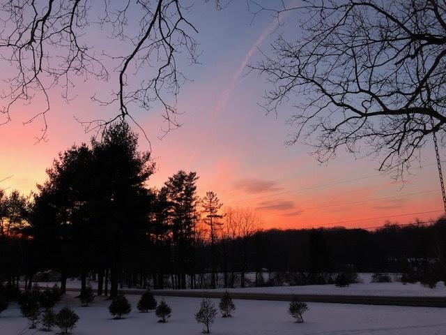 Sunset February 2