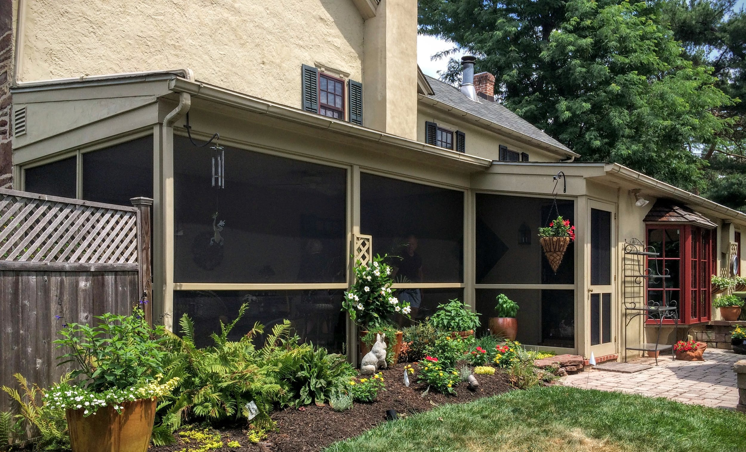 Renue Glass and Screen Repair Garden Patio Screen Tight