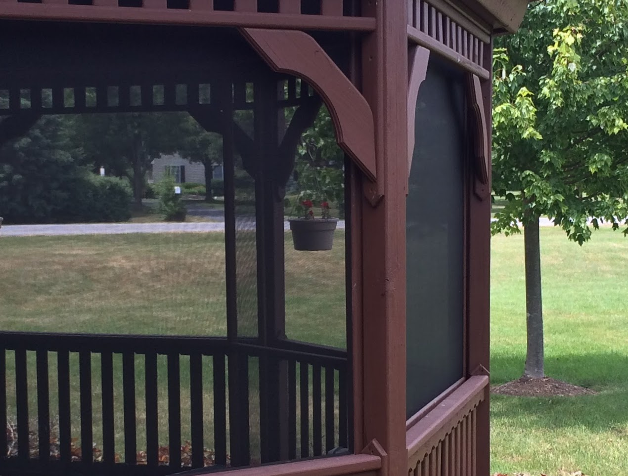 Renue Glass and Screen Repair Garden Gazebo Detail