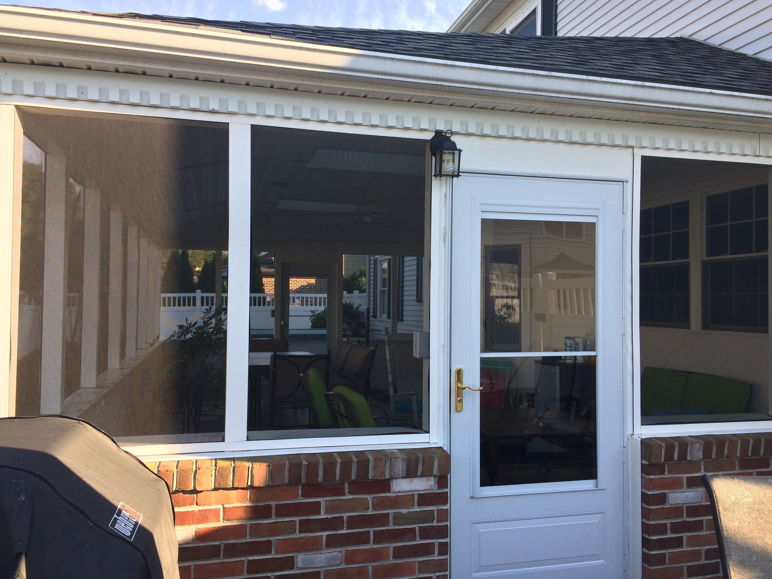 Renue Glass and Screen Repair Backyard Patio