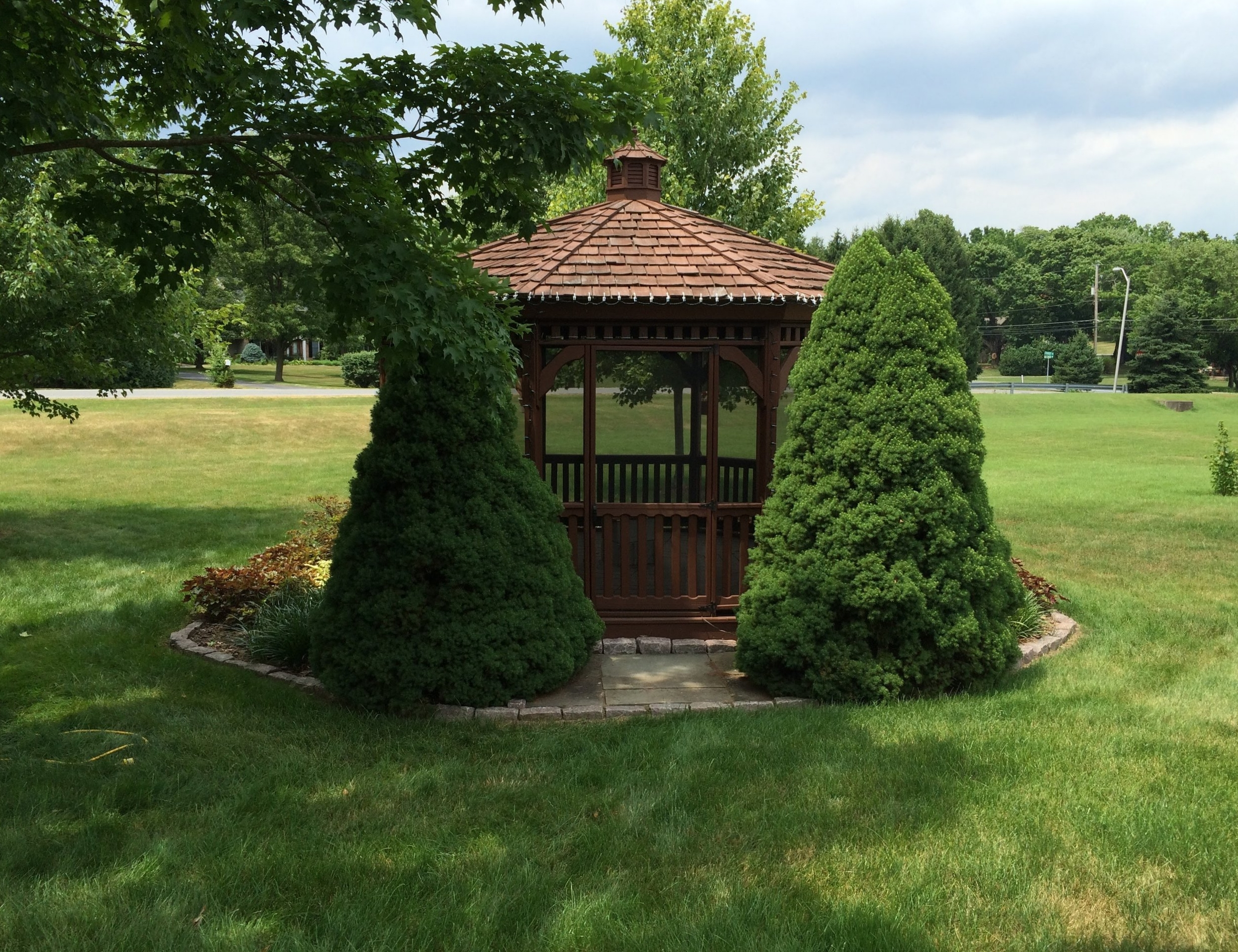 Renue Glass and Screen Repair Cedar Garden Gazebo