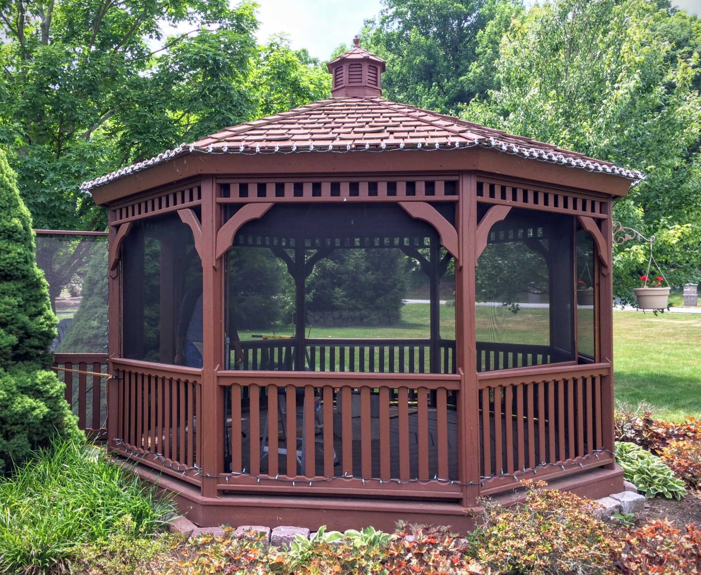 Renue Glass and Screen Repair Garden Gazebo