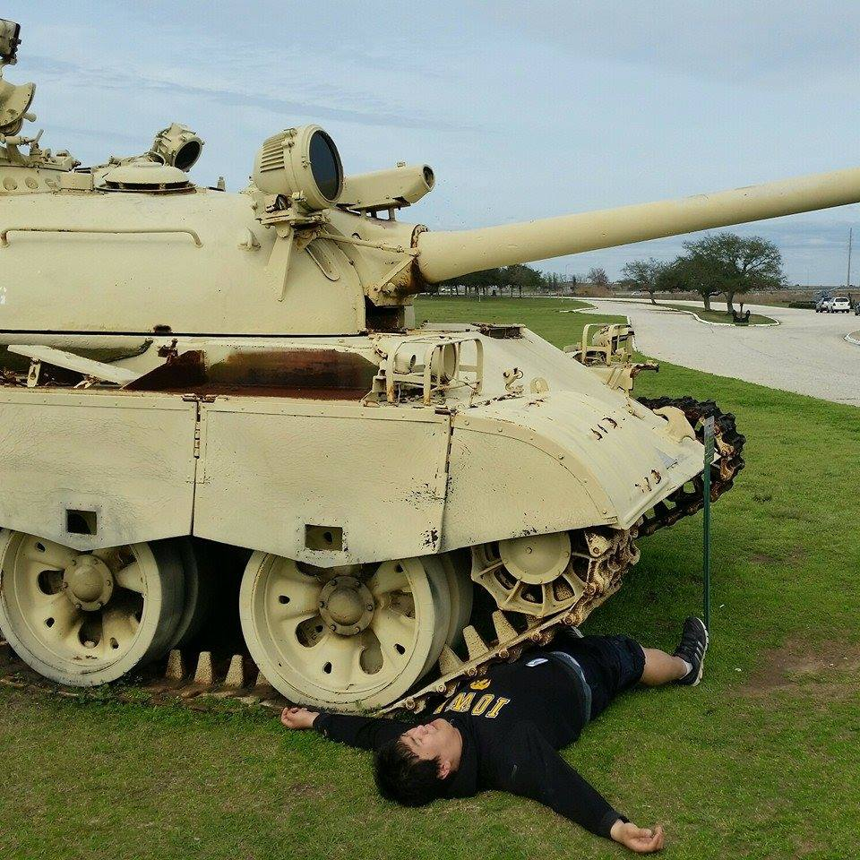 Tank vs. Tim - The Tank survived with minor injuries