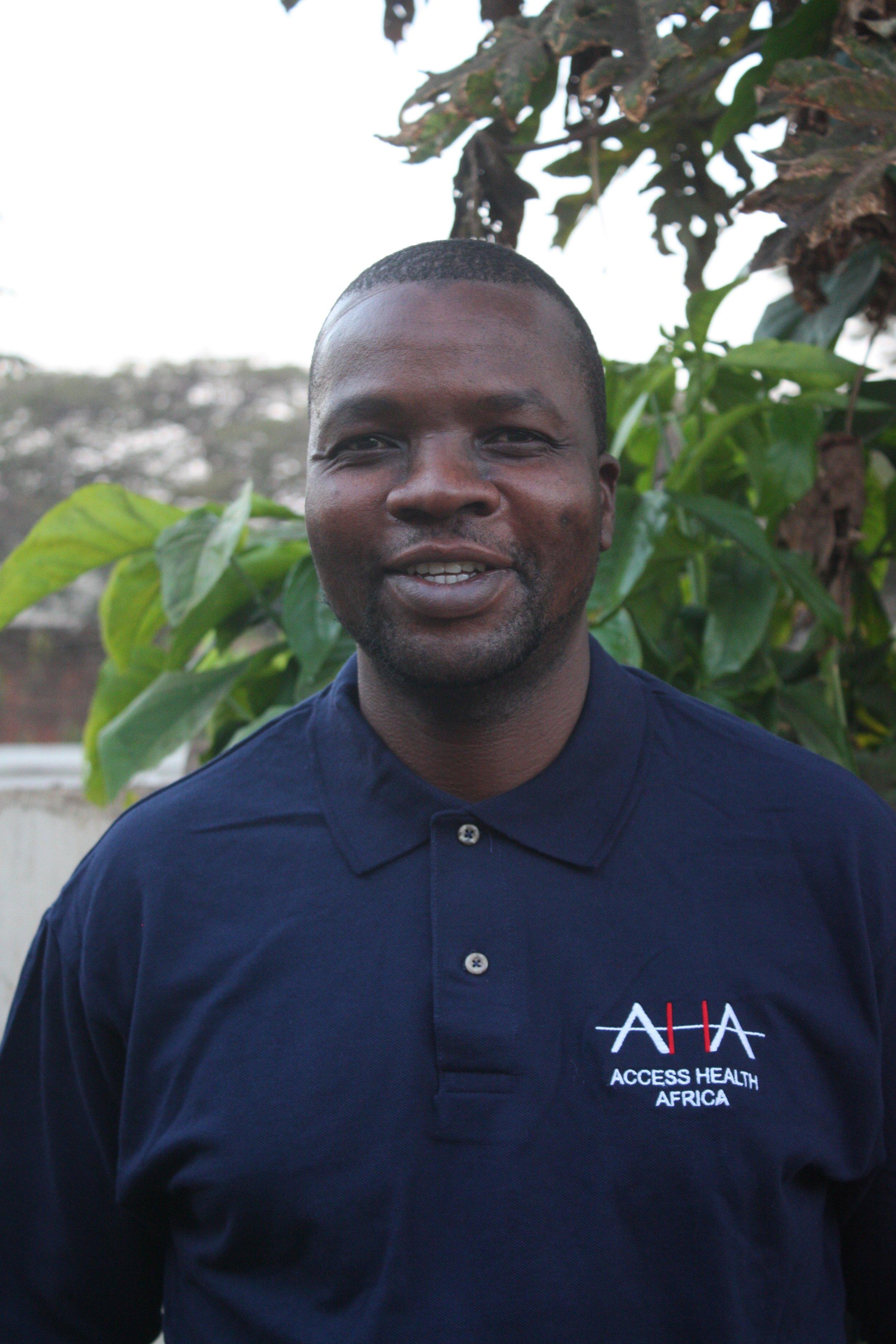 Chipingo Phiri, AHA Country Manager