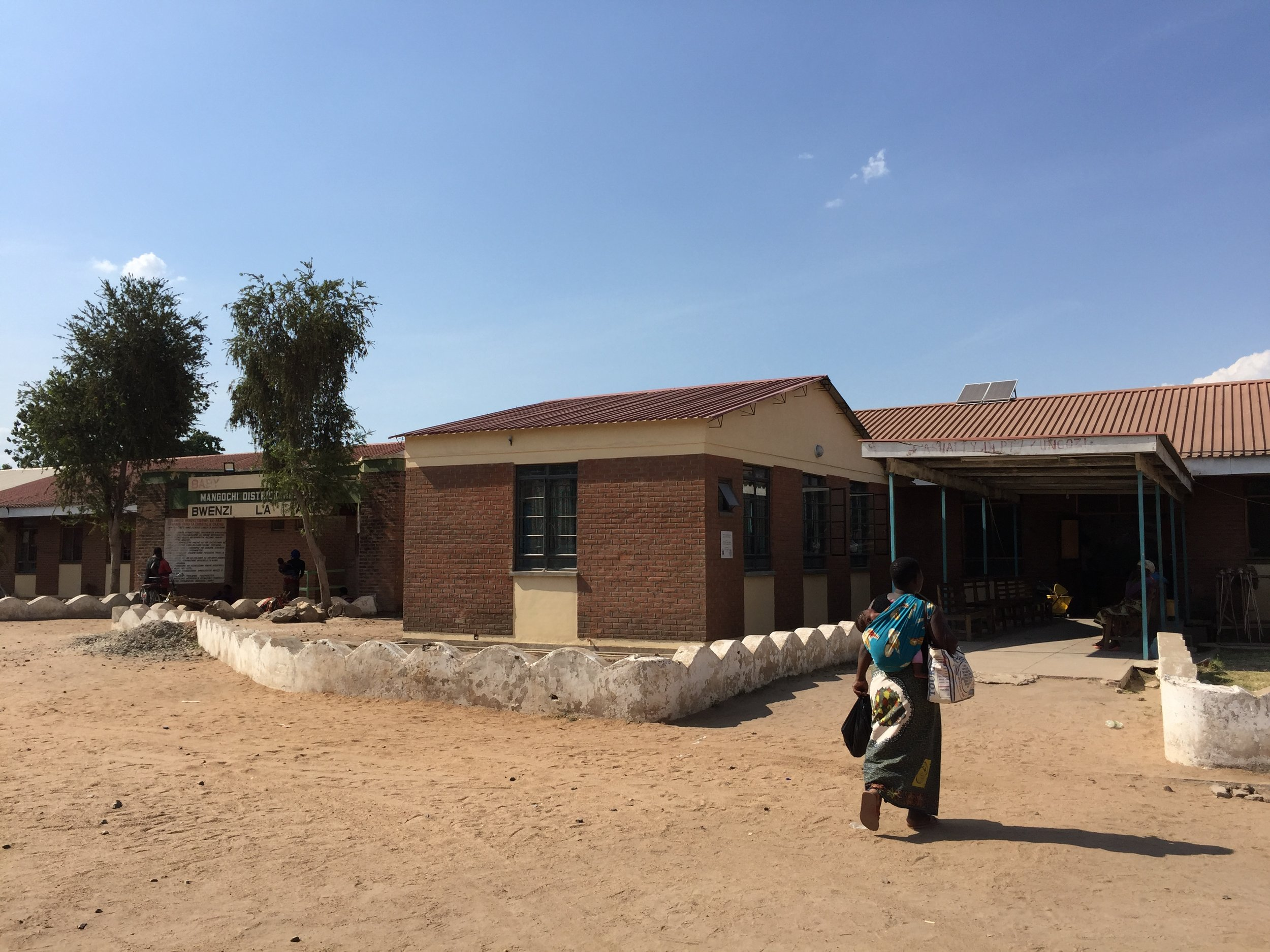 Newly built Mangochi trauma room