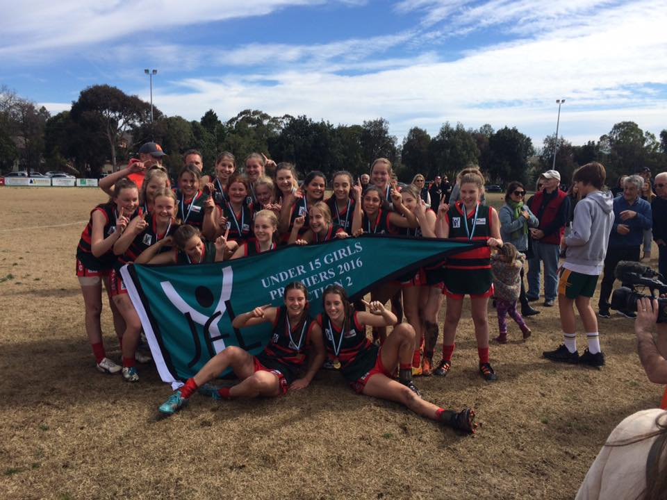 U15 Girls Red  Coach: David Cooper Under 15 Division 2 Premiers