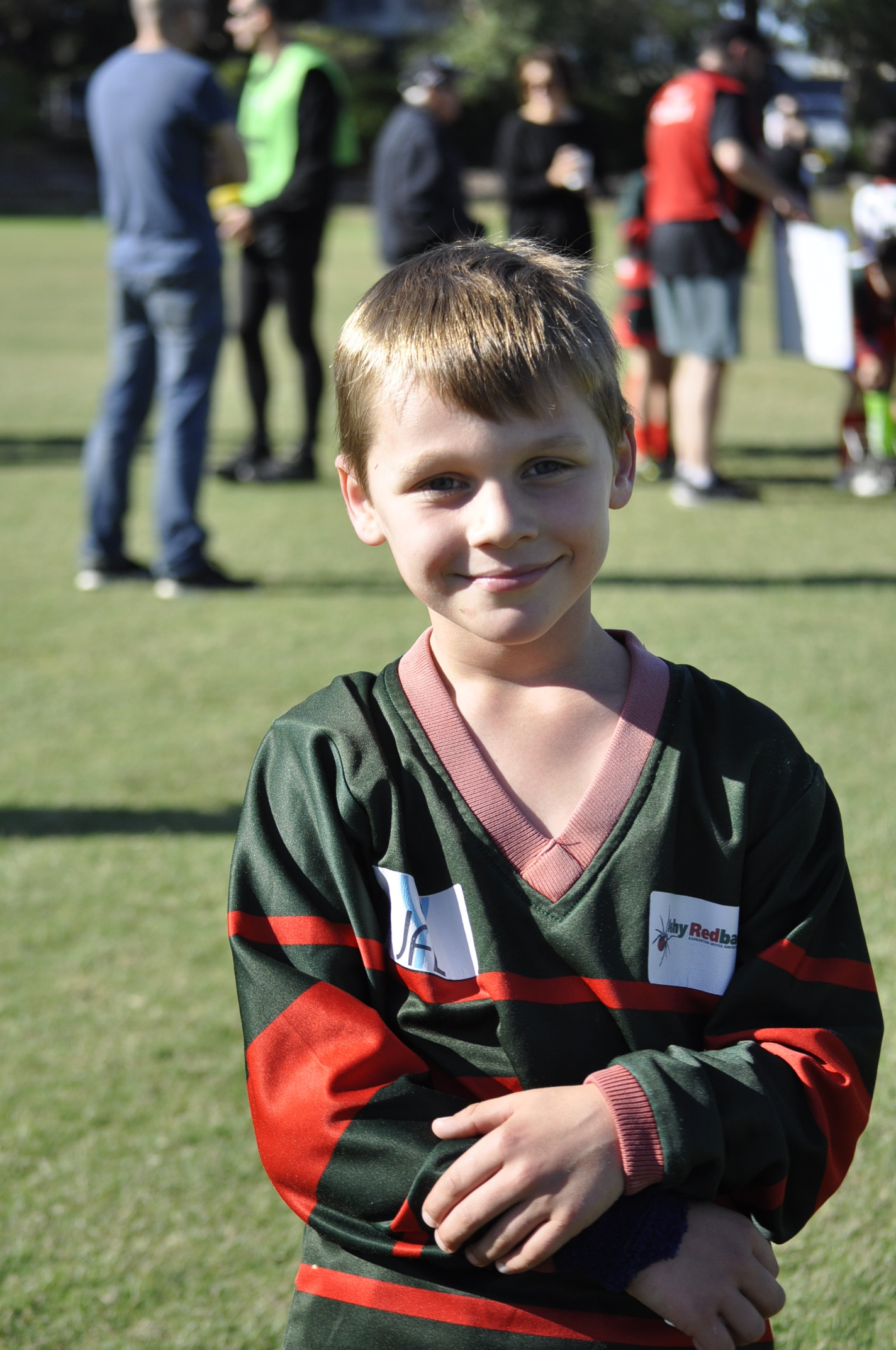 Congrats Jordan - what an exciting start to your Ashy footy experience, 3.2 in your first game!