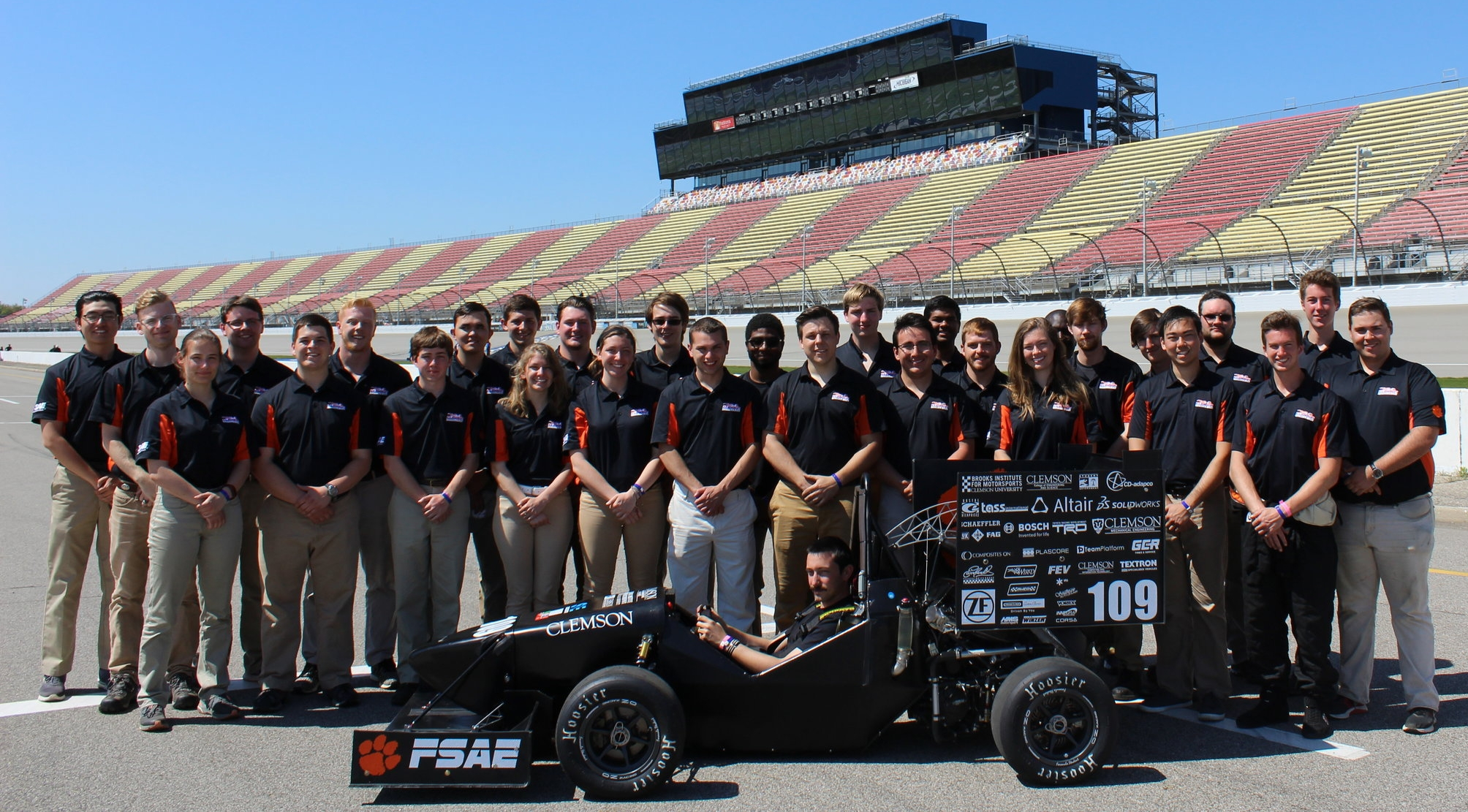CUFSAE Team 2017-18 and Tiger19