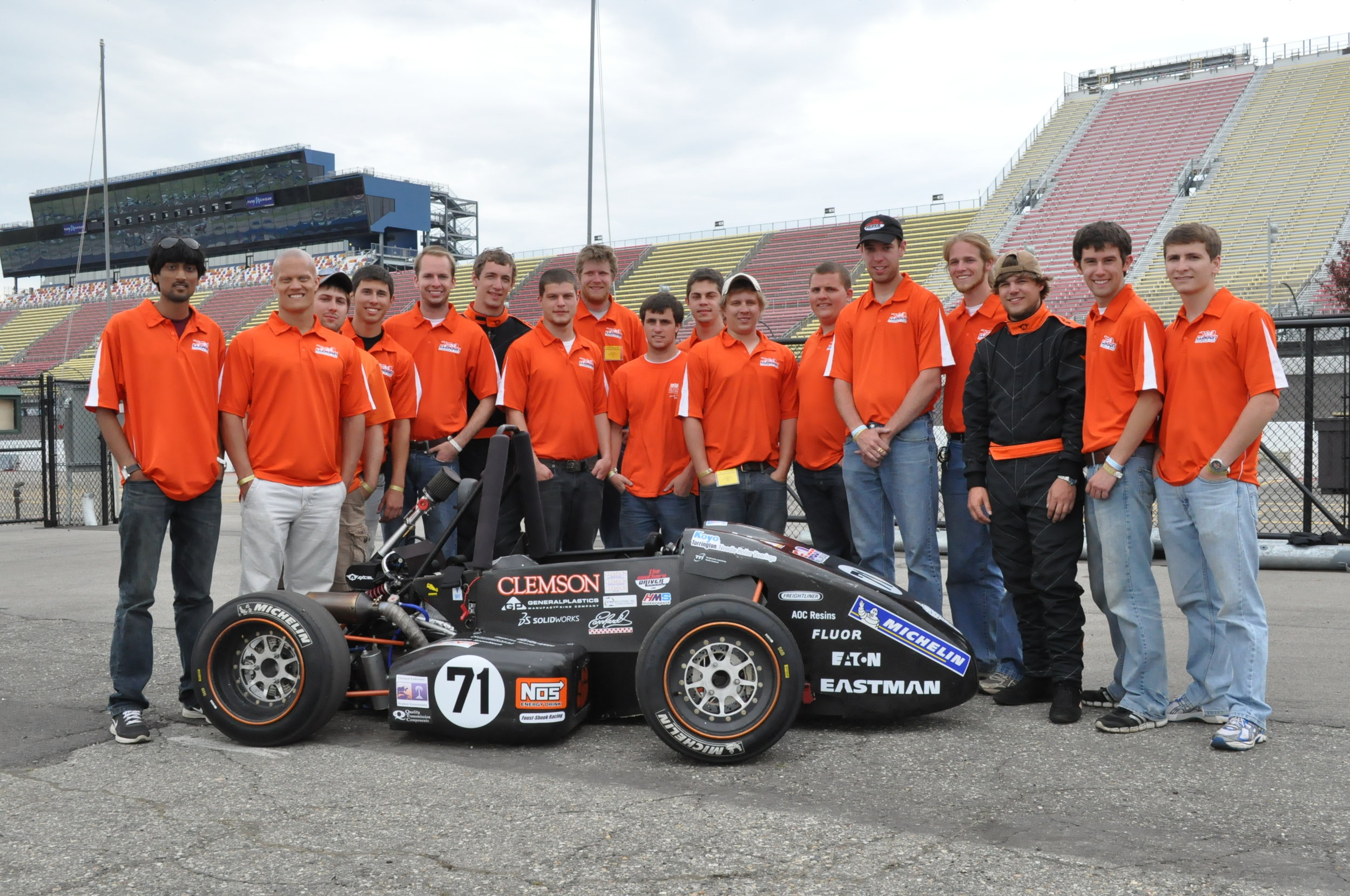 CUFSAE 2012-13 and Tiger14