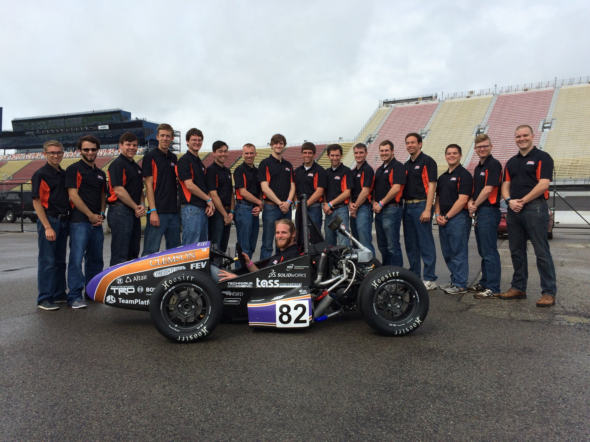 CUFSAE Team 2014-15 and Tiger17