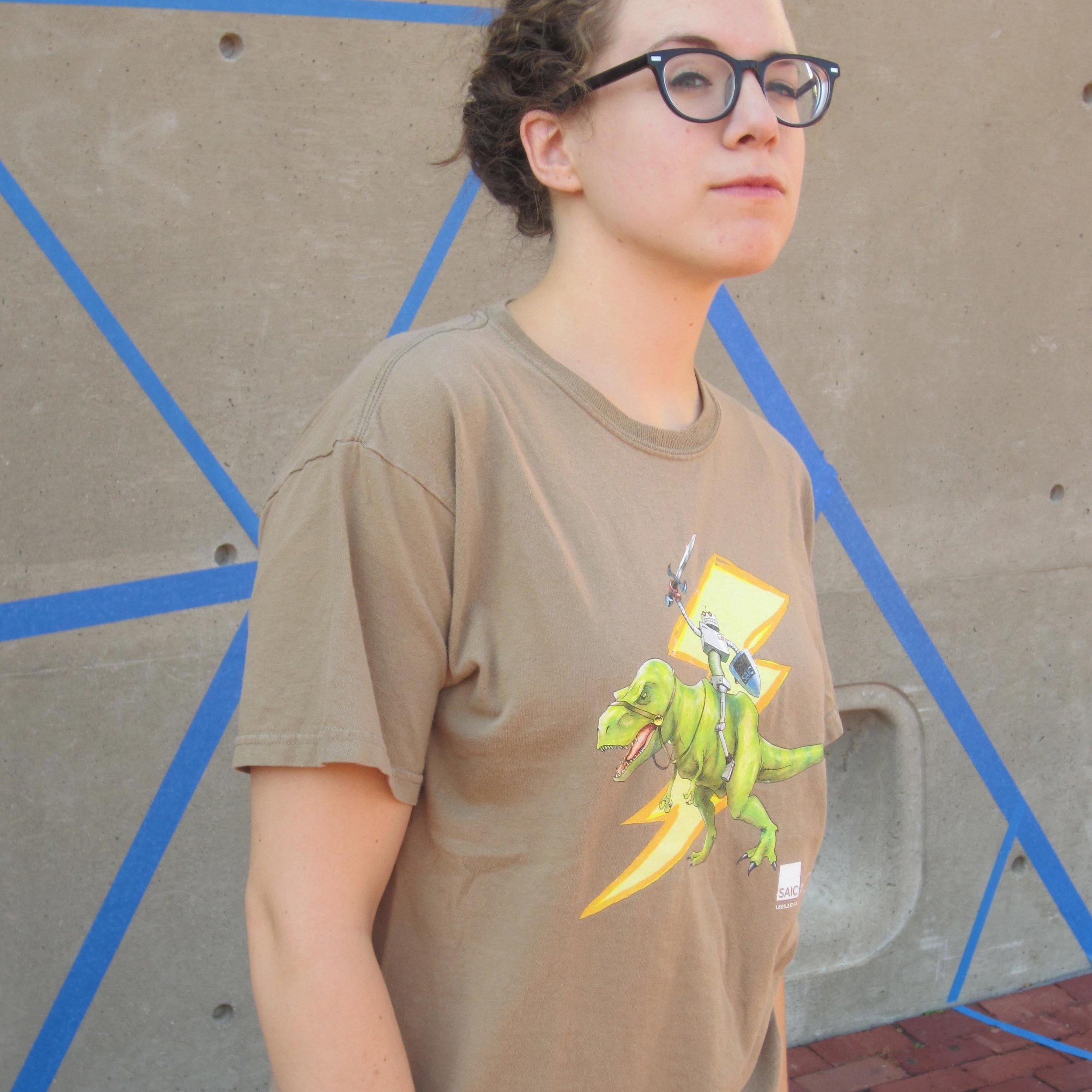 Rex Rider Shirt (modeled)