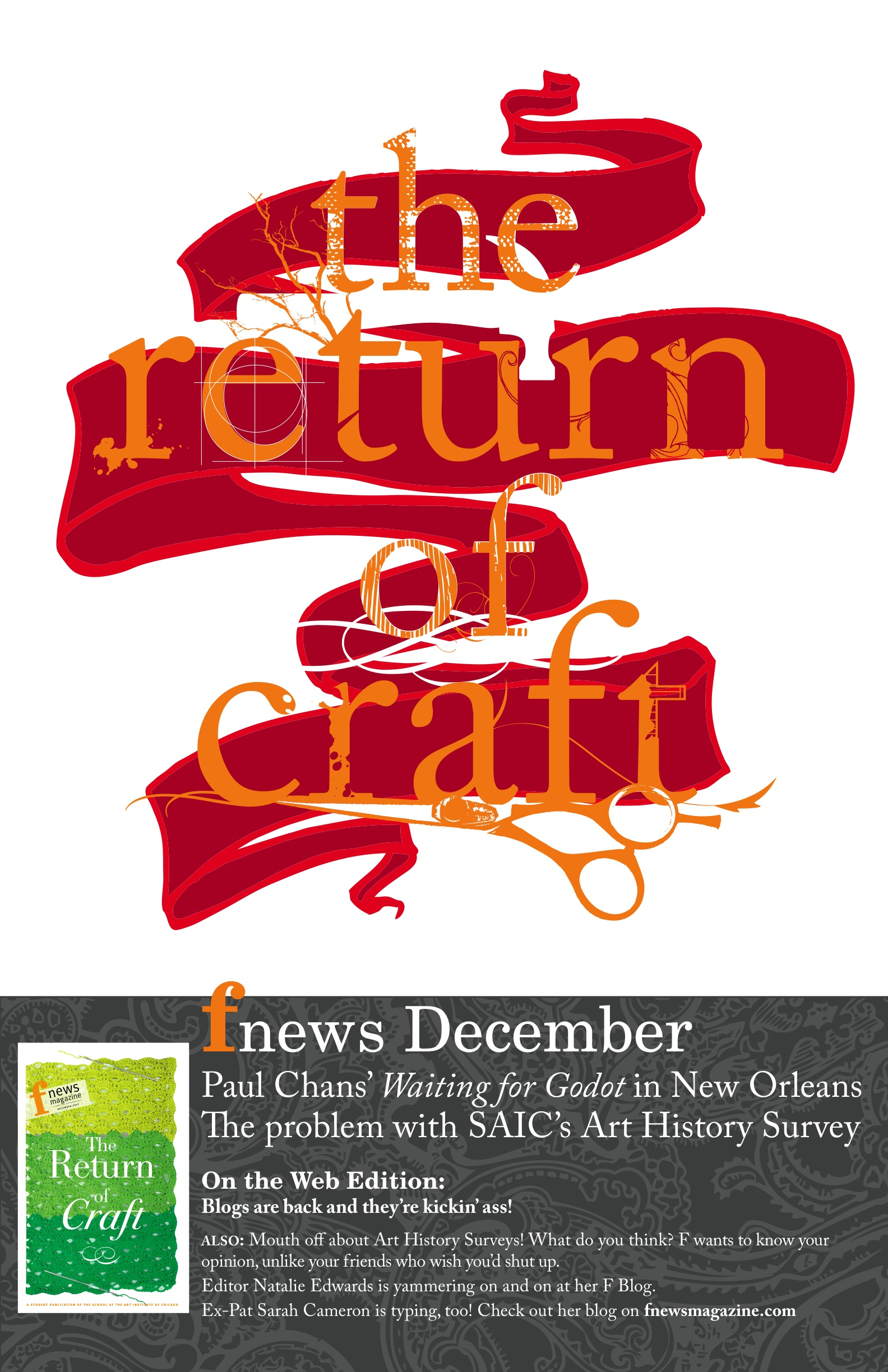 """""""Craft Issue"""" poster"""