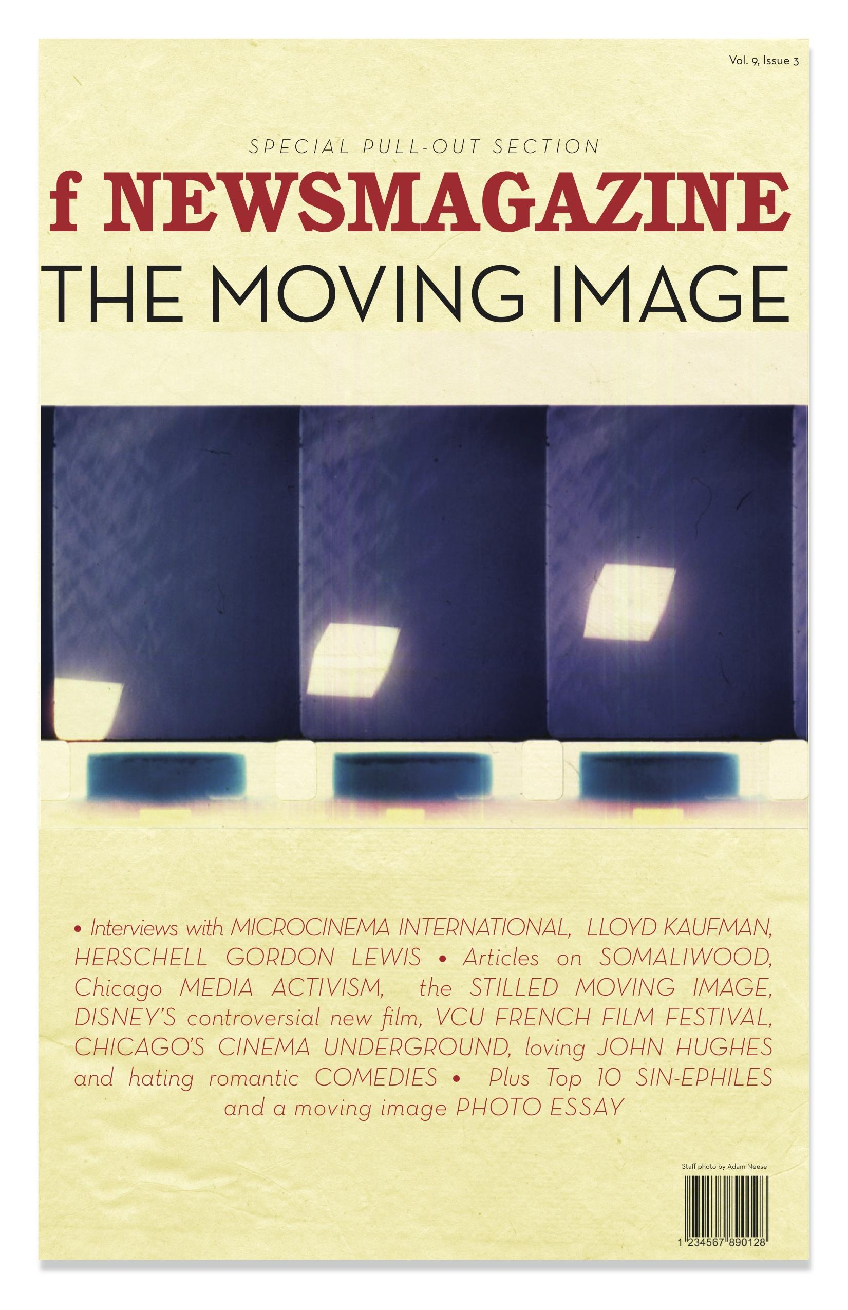 Film Issue insert cover
