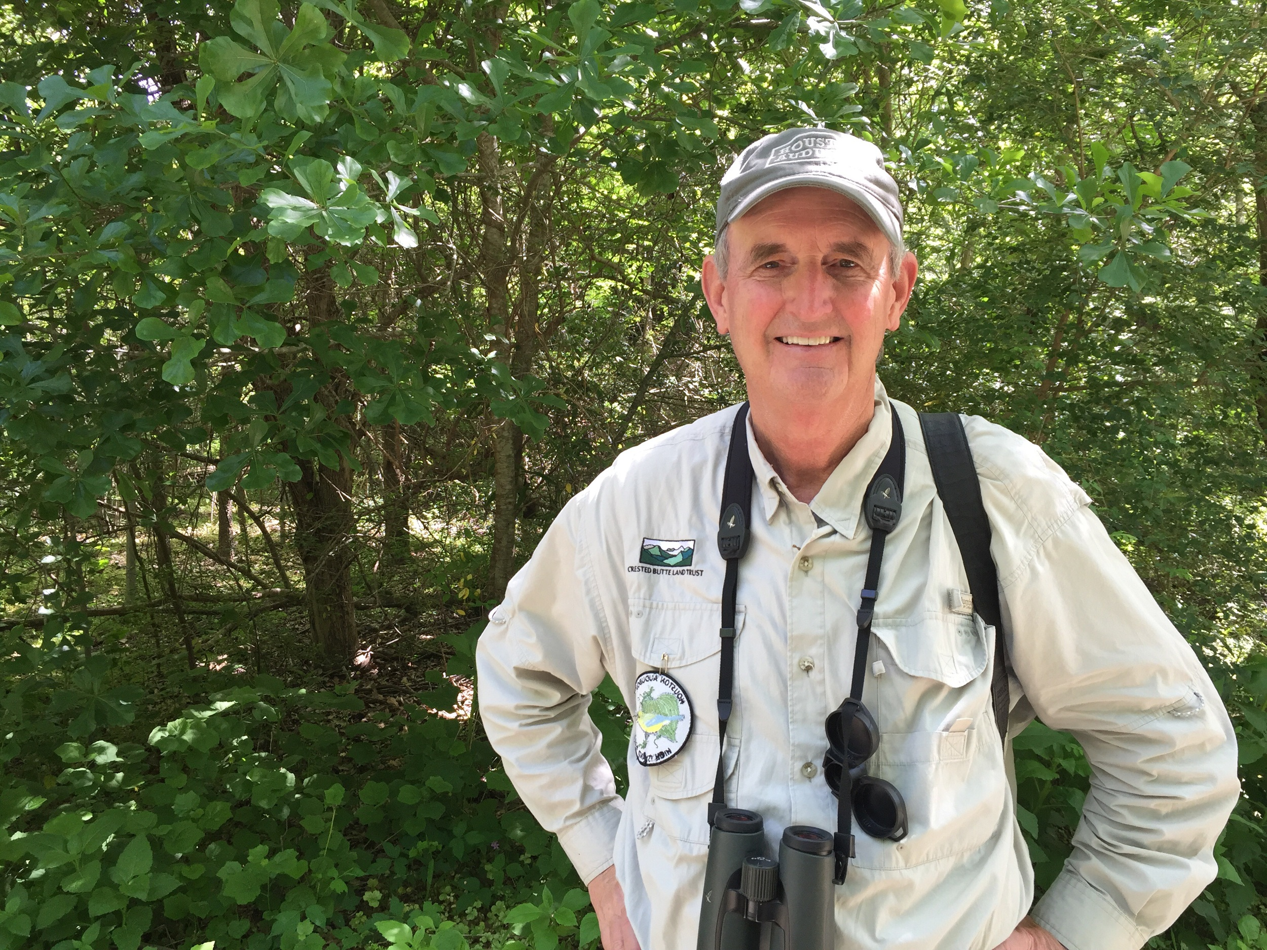 Ben has served in the past as President of Houston Audubon and is passionate about High Island