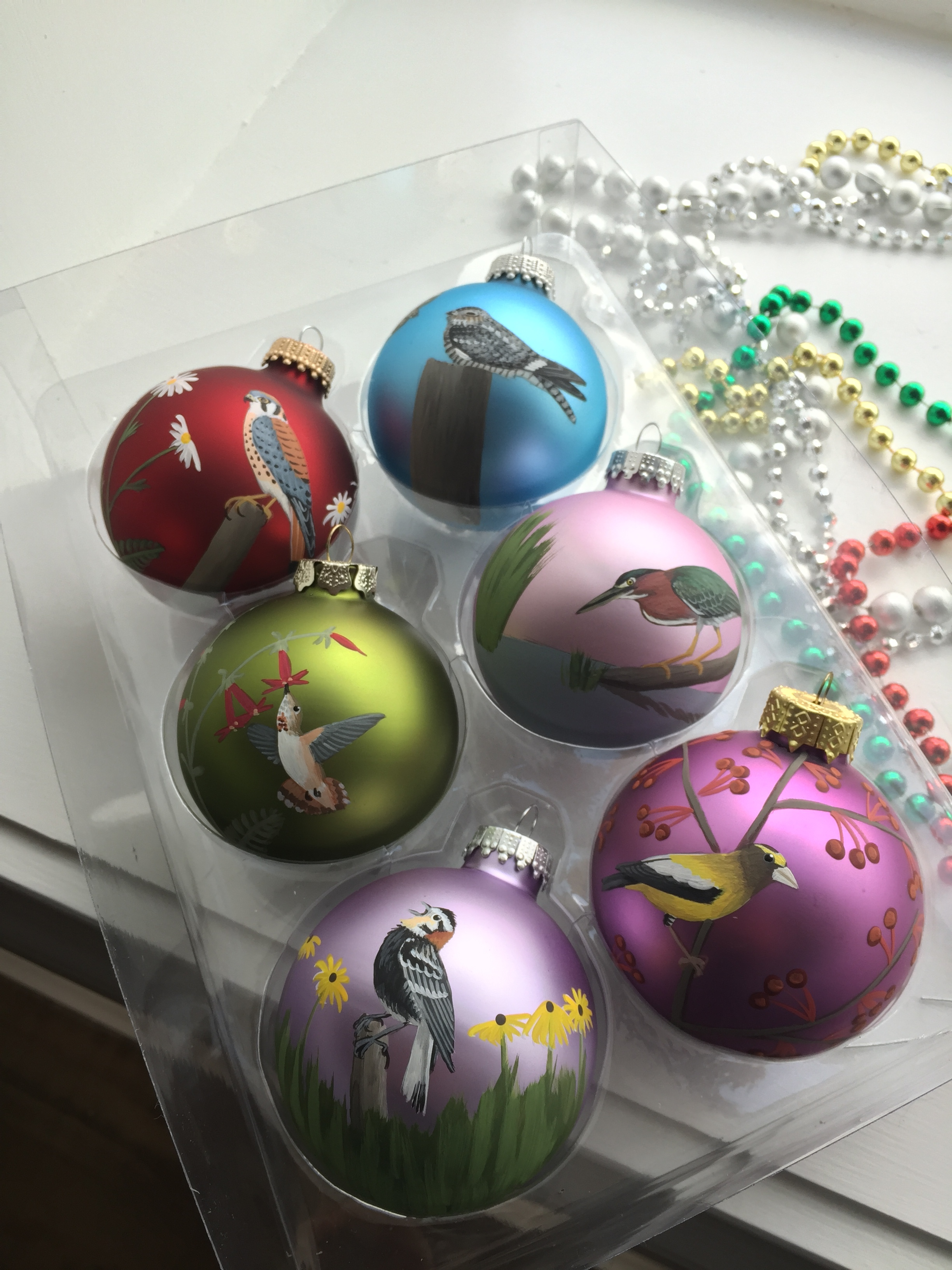 Awesome Christmas ornaments for sale!