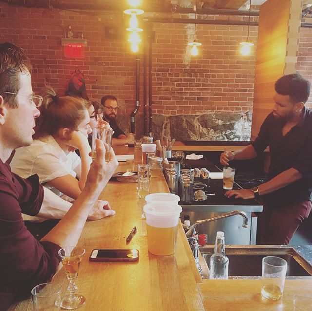 Last week our team split into groups to create our own vermouth recipes and partake in some friendly in-house competition. Some groups fashioned their vermouths with specific cocktails in mind, others made vermouths ideal for spritzing and sipping. #vermouthwars #spritzit