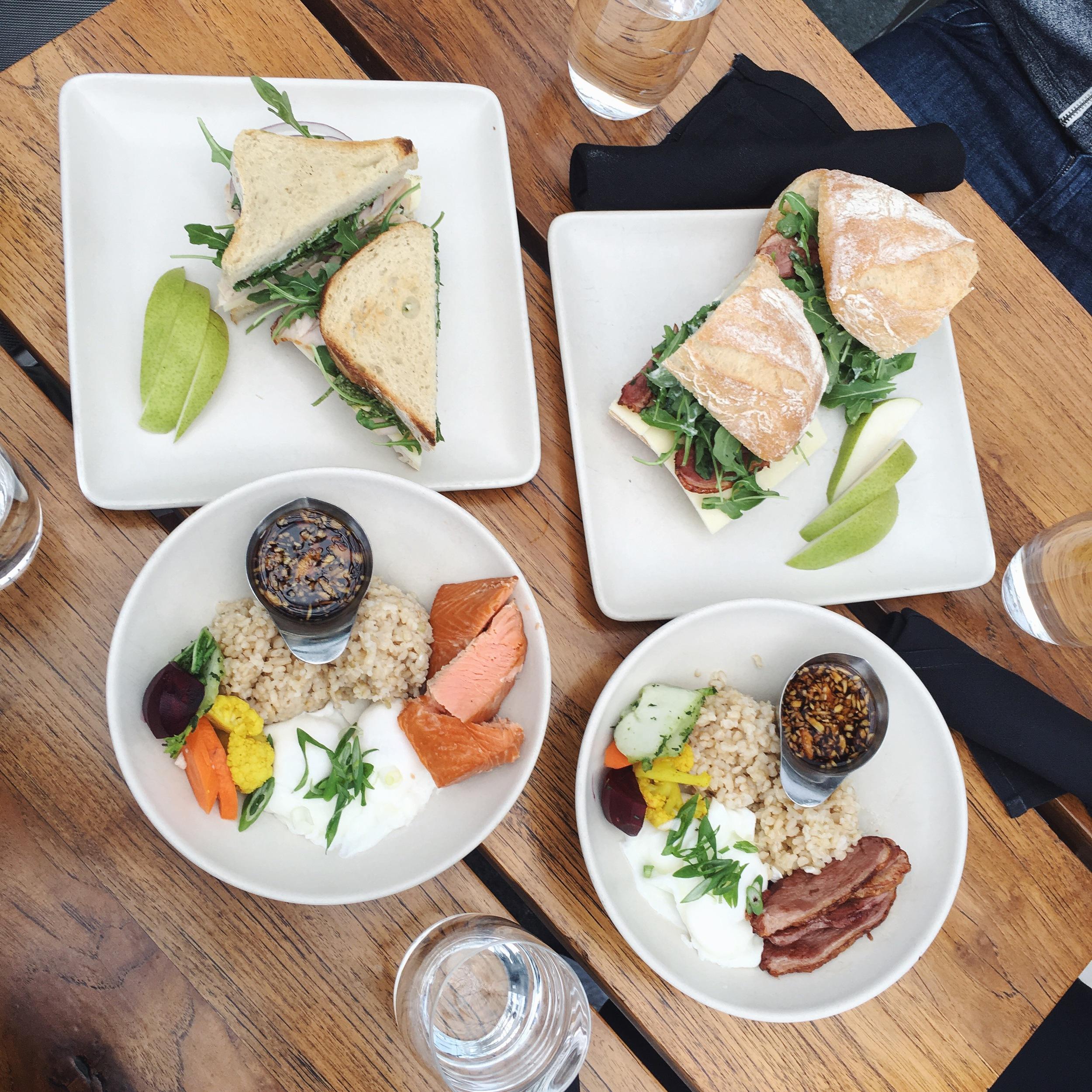 Lunch at Samovar Tea Lounge in San Francisco