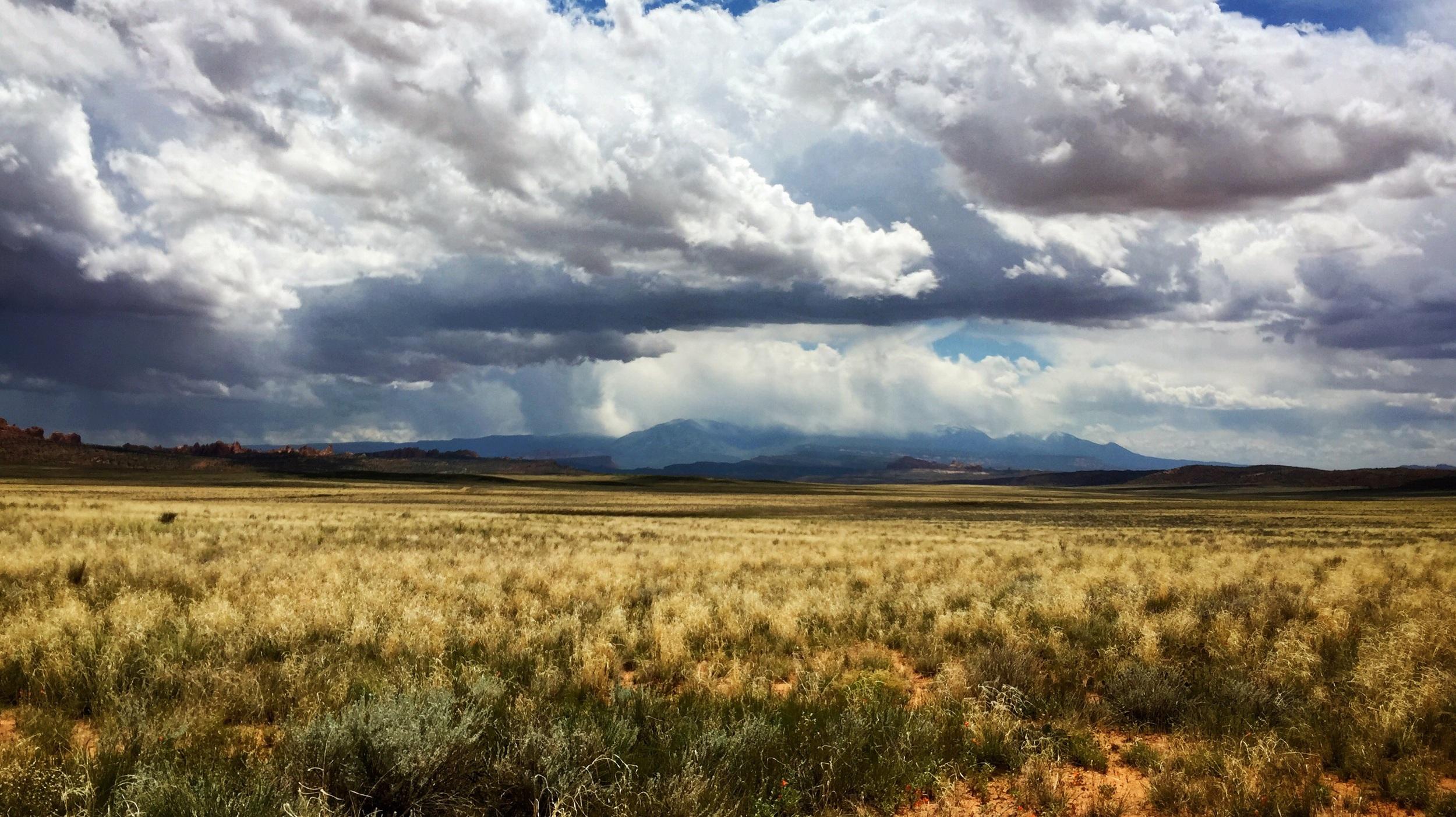 The Salt Mountains.
