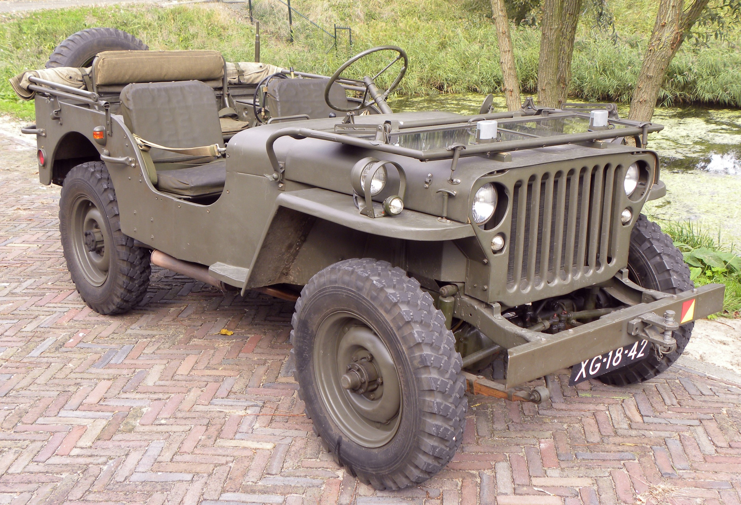 Image: Wikipedia, 1943 Willys Jeep