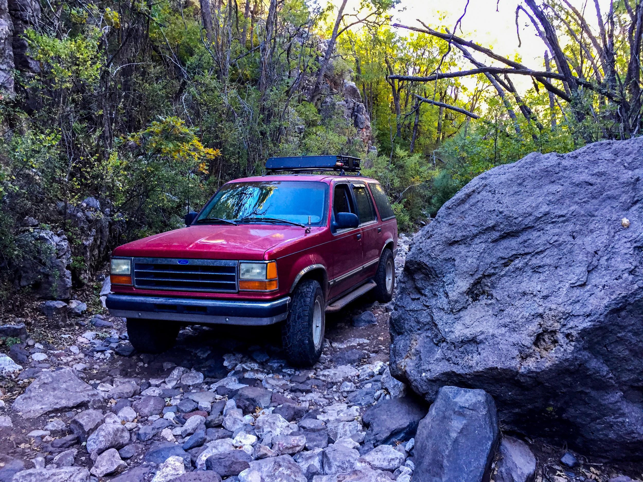 Smiley Rock Trail Boulder Gate 1