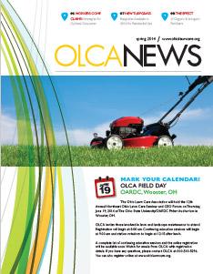 OLCA News - Spring 2014