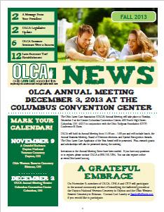 OLCA News - Fall 2013