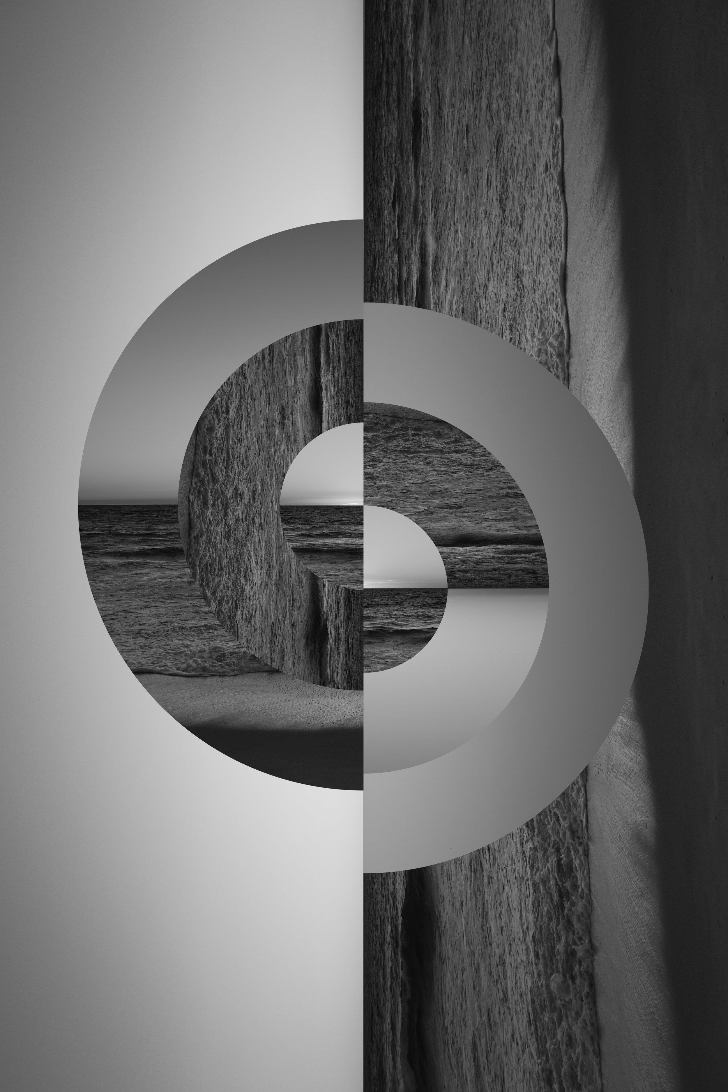 "Geometric Memories - 20x30""  archival print."