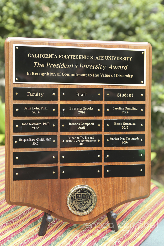Renoda Campbell Photography, San Luis Obispo Events photographer, Cal Poly, Presidents Diversity Awards 2016, #rcpslo, #calpolyproud-1579.jpg