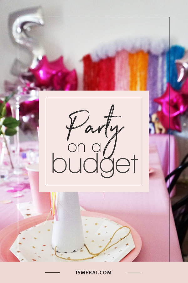 Party On a Budget - Amazon