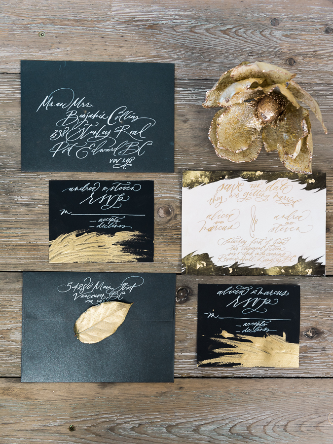 wedding ivory and gold