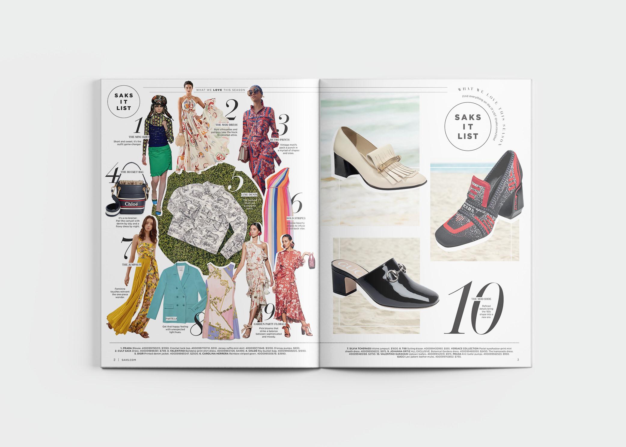 Fifth Avenue Catalog >> Saks Fifth Avenue Resort Editorial 2019 The Studio Of