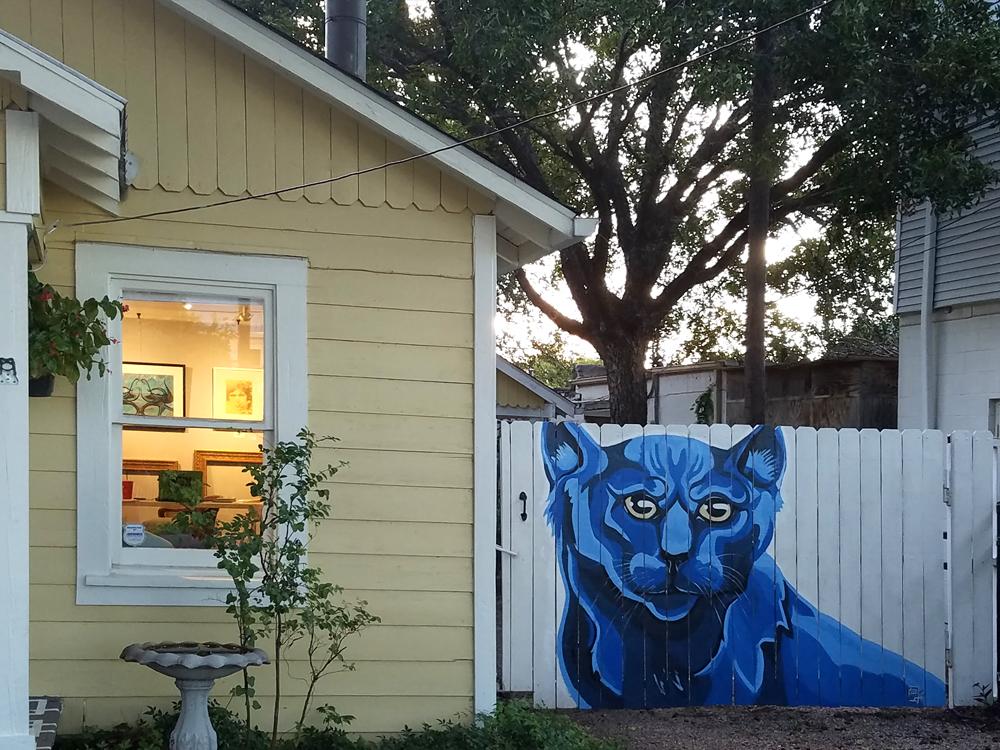 Sly Cat Mural